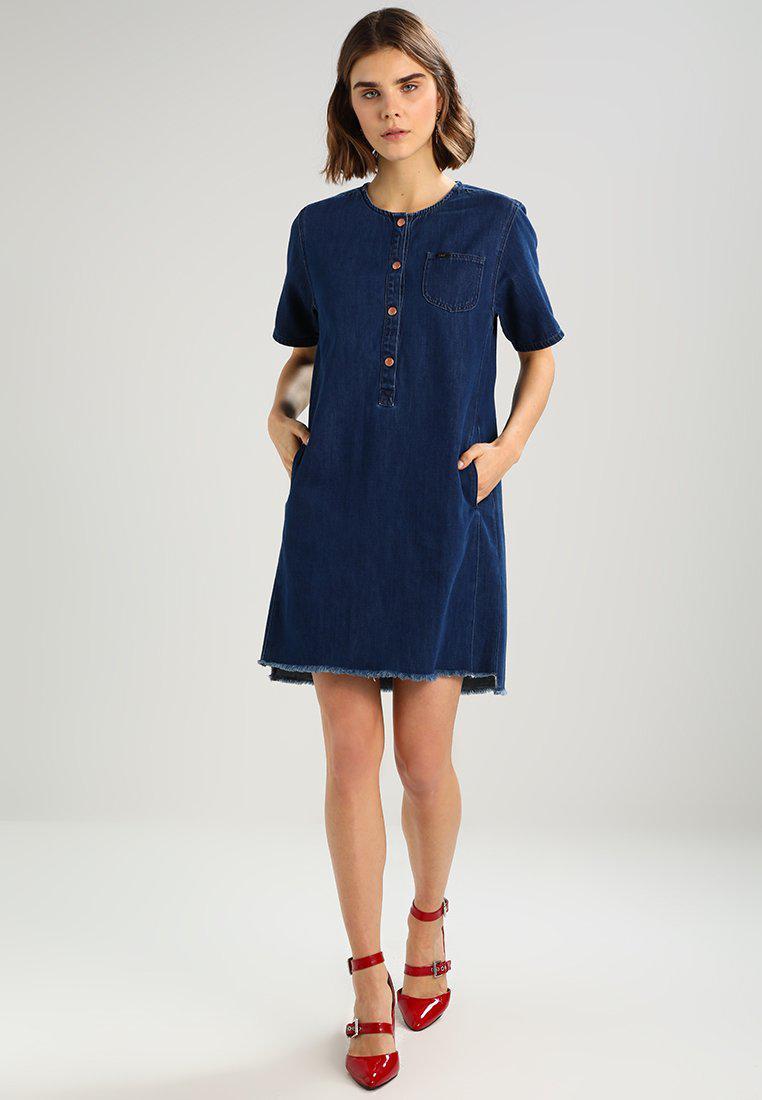 Lee Jeans | Blue Denim Dress | Lyst. View Fullscreen