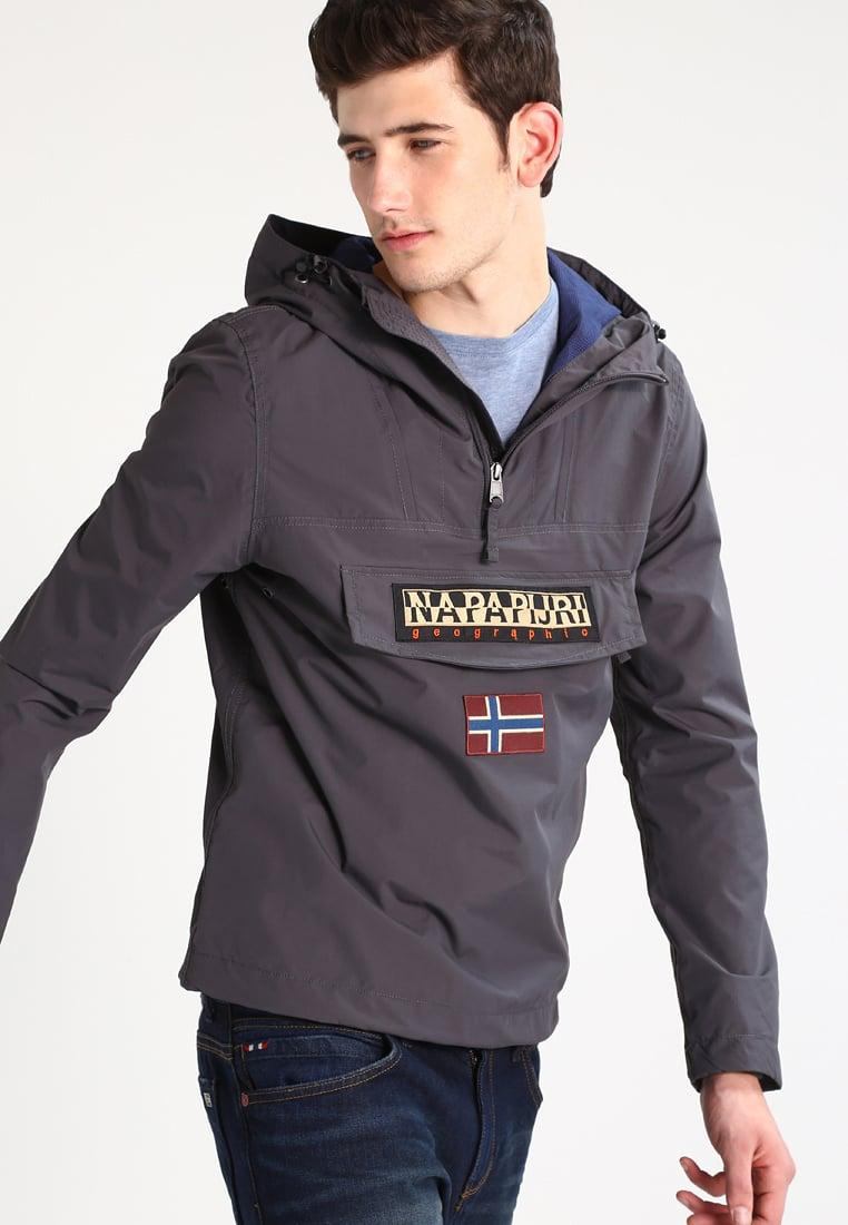 lyst napapijri rainforest summer jacket in gray for men