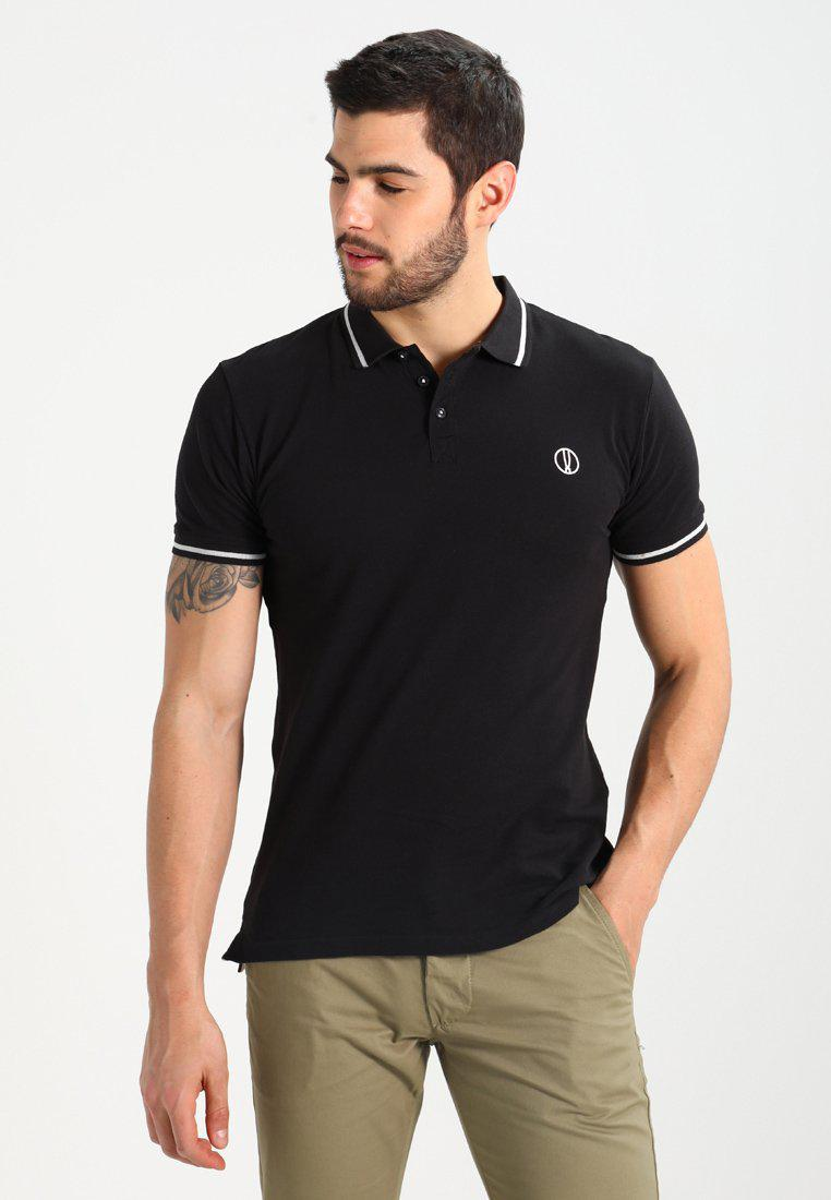 Solid. Men's Black Manus Polo Shirt
