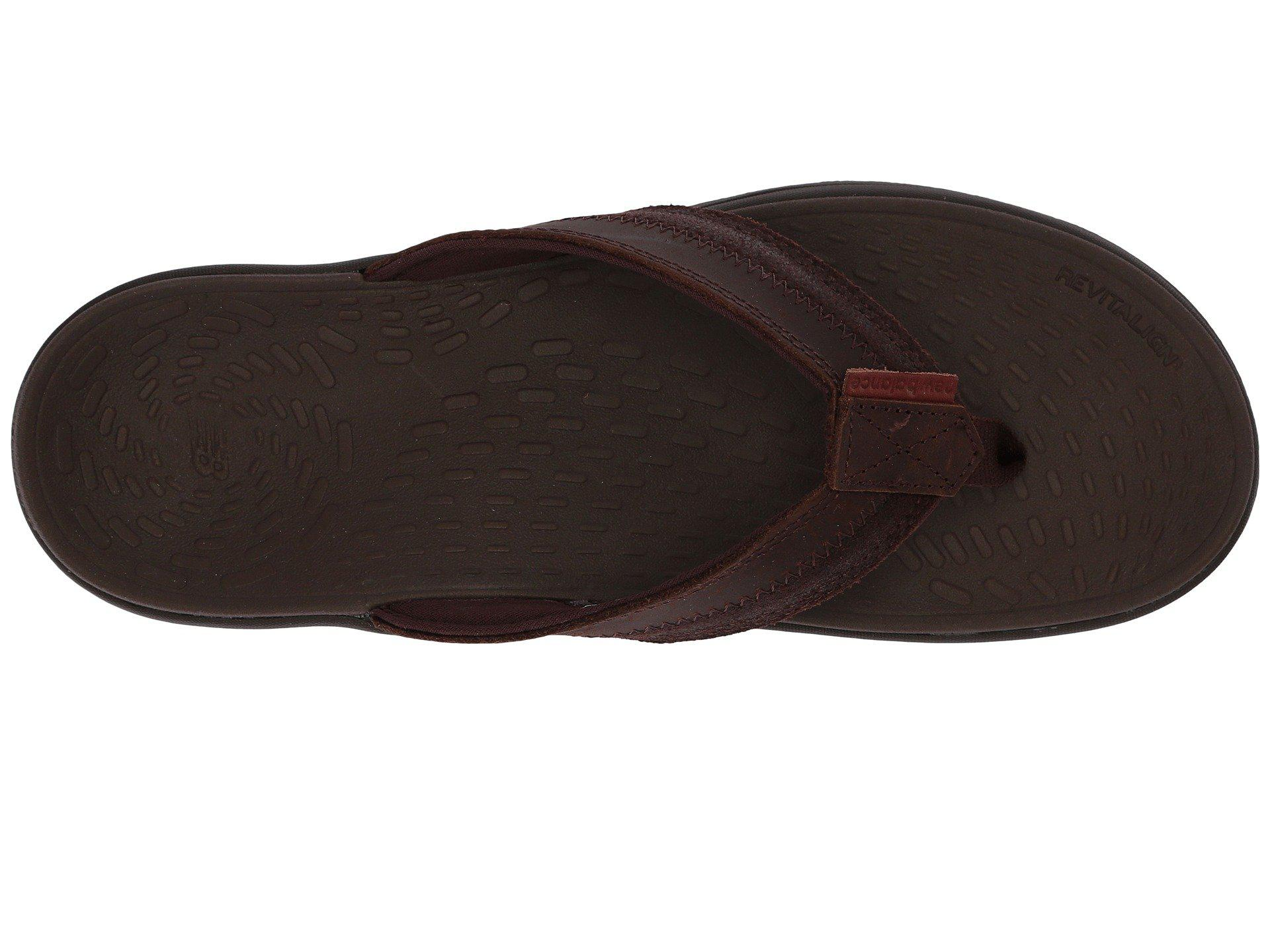a9cc7840e Lyst - New Balance Pinnacle Flip (whisky) Men s Sandals in Brown for Men