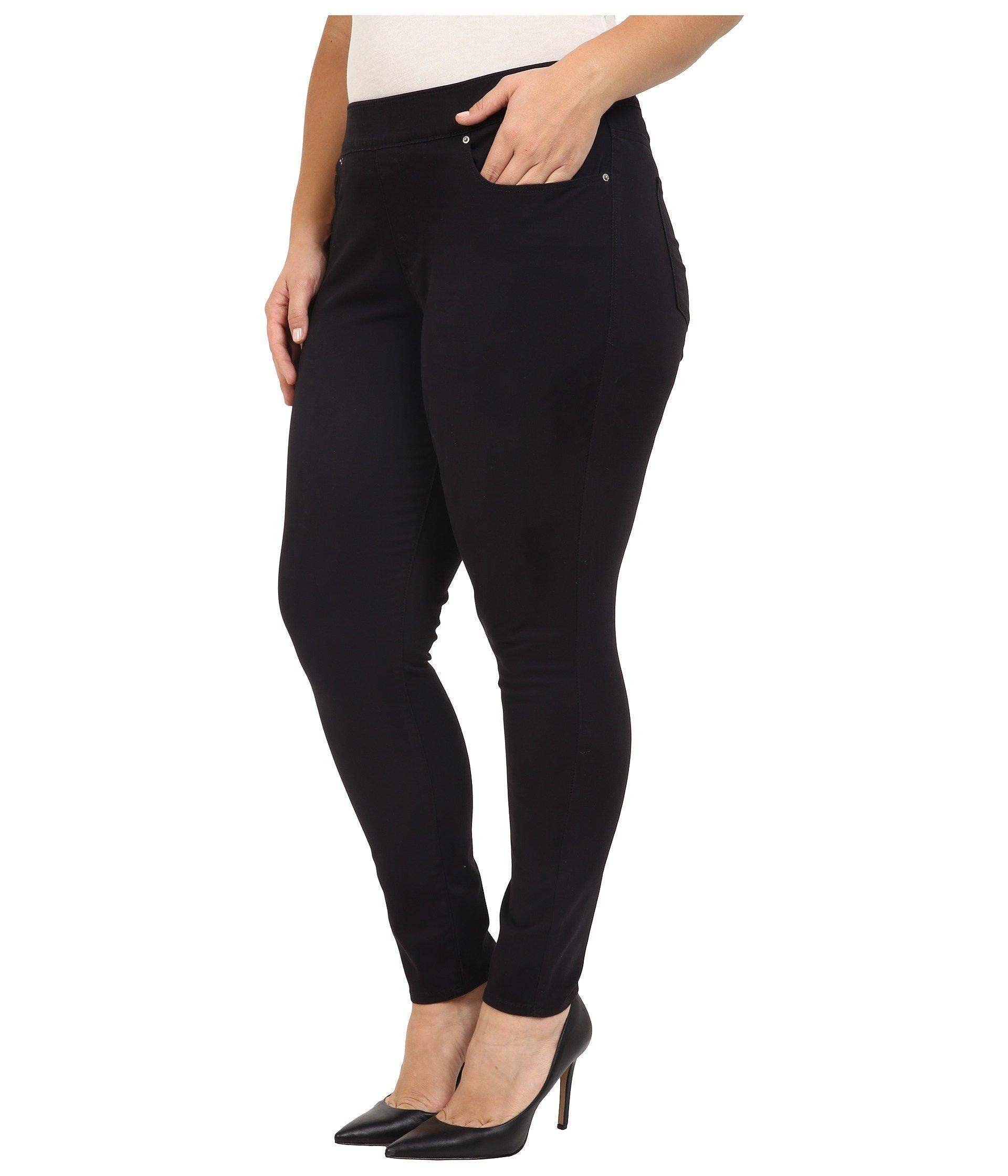 5af204d5 Lyst - Levi's Levi's(r) Plus Pull-on Leggings (one Fine Day) Women's Jeans  in Black