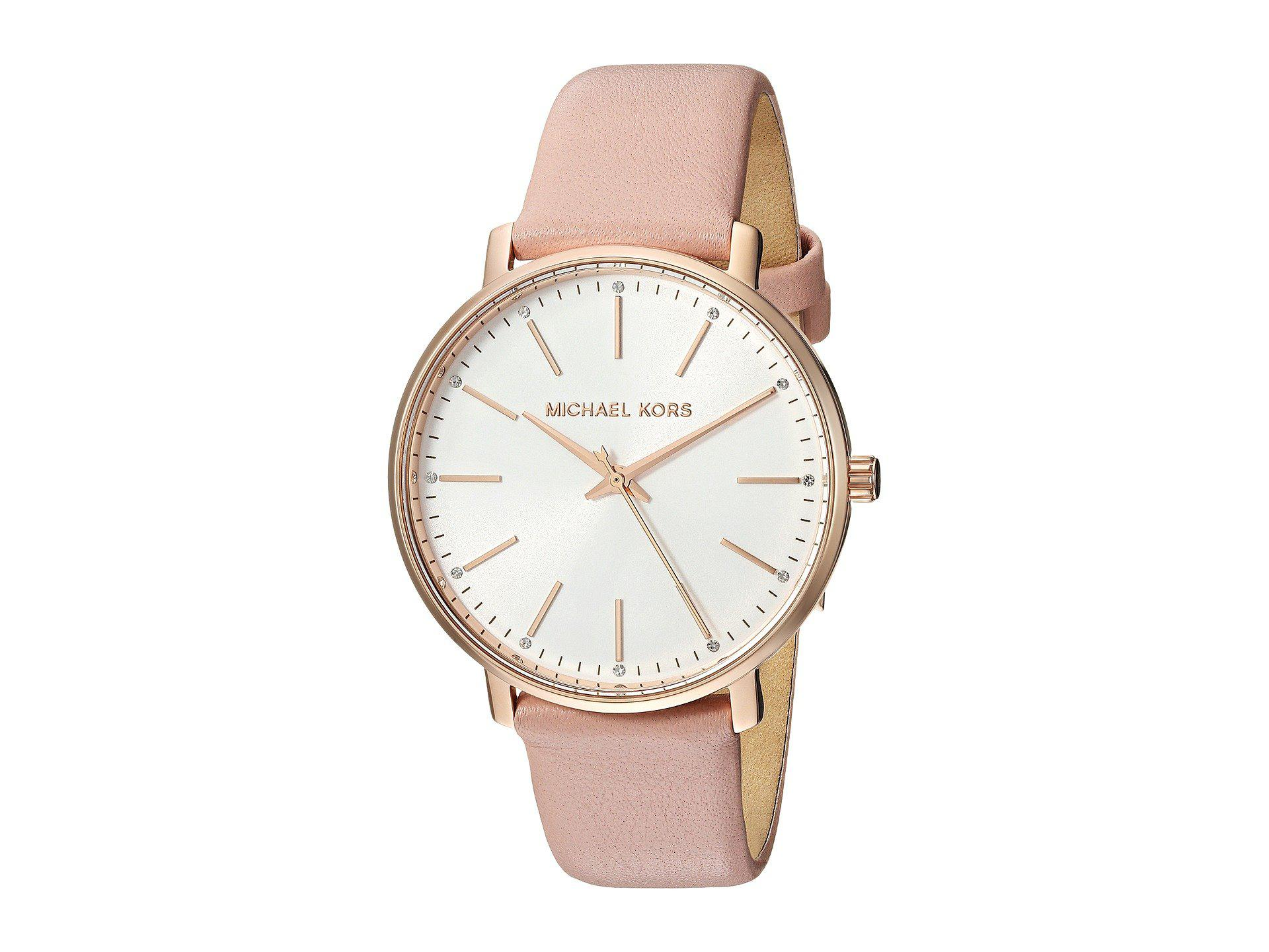 0b56ec73746c Lyst - Michael Kors Mk2741 - Pyper (pink) Watches in Pink