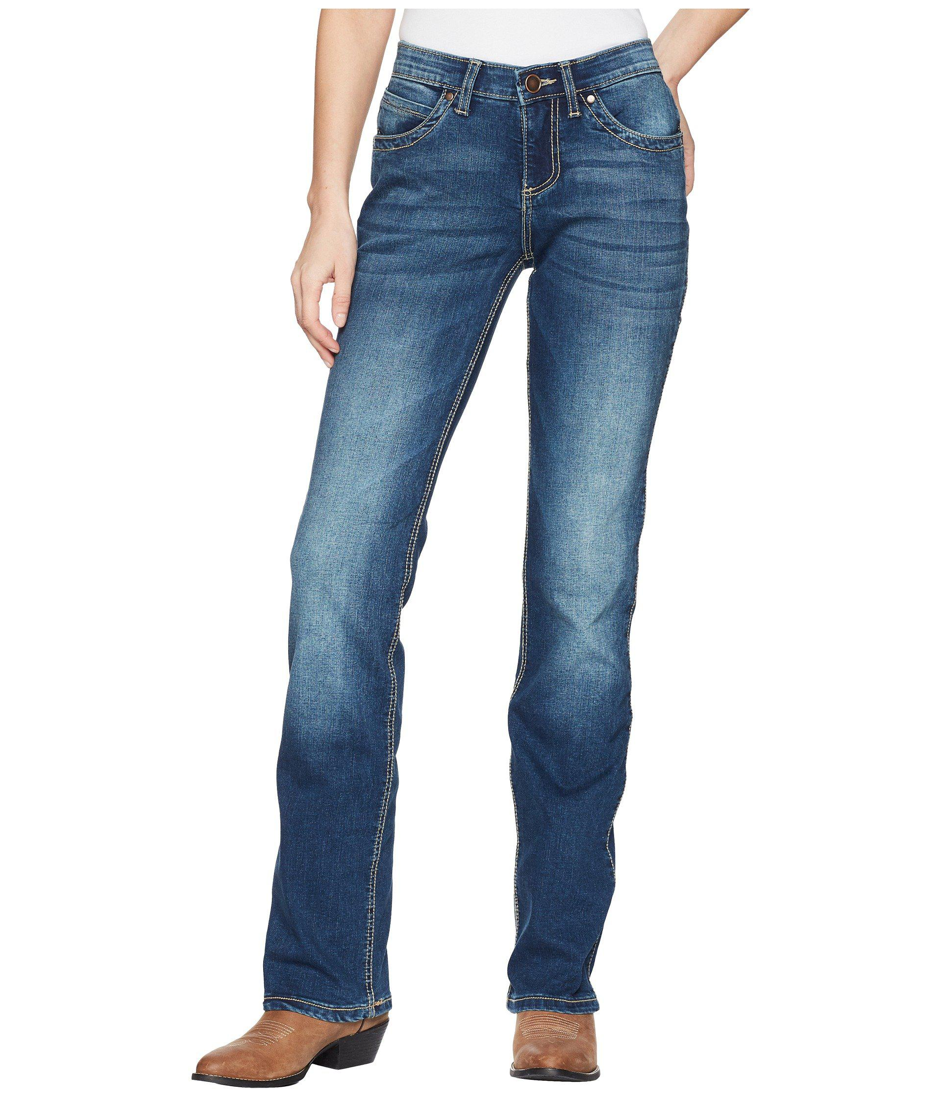 Lyst Wrangler Q Baby Ultimate Riding Jeans in Blue