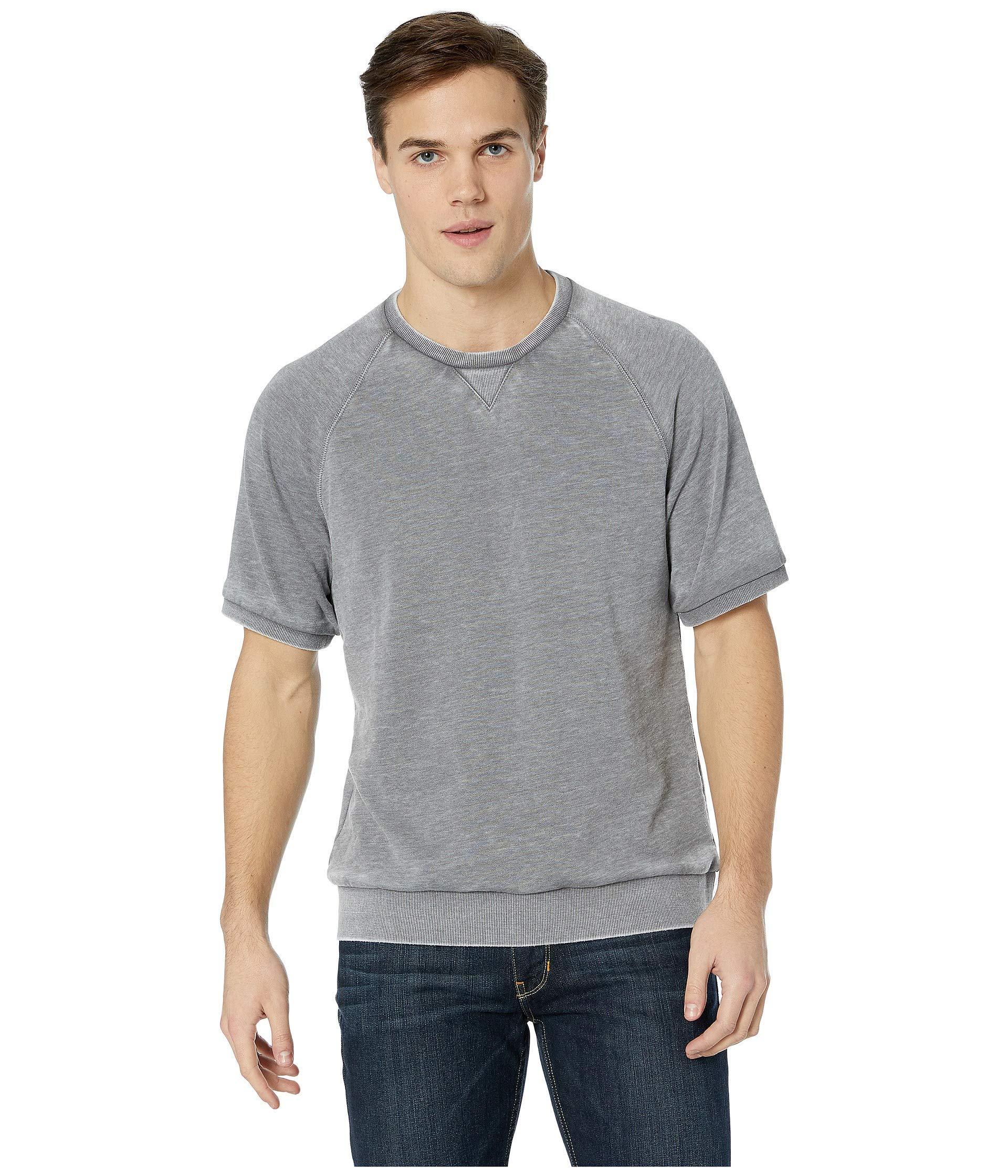 dc08a92b3c799 Alternative Apparel. Gray Co-ed Short Sleeve Sweatshirt (nickel) Men's T  Shirt