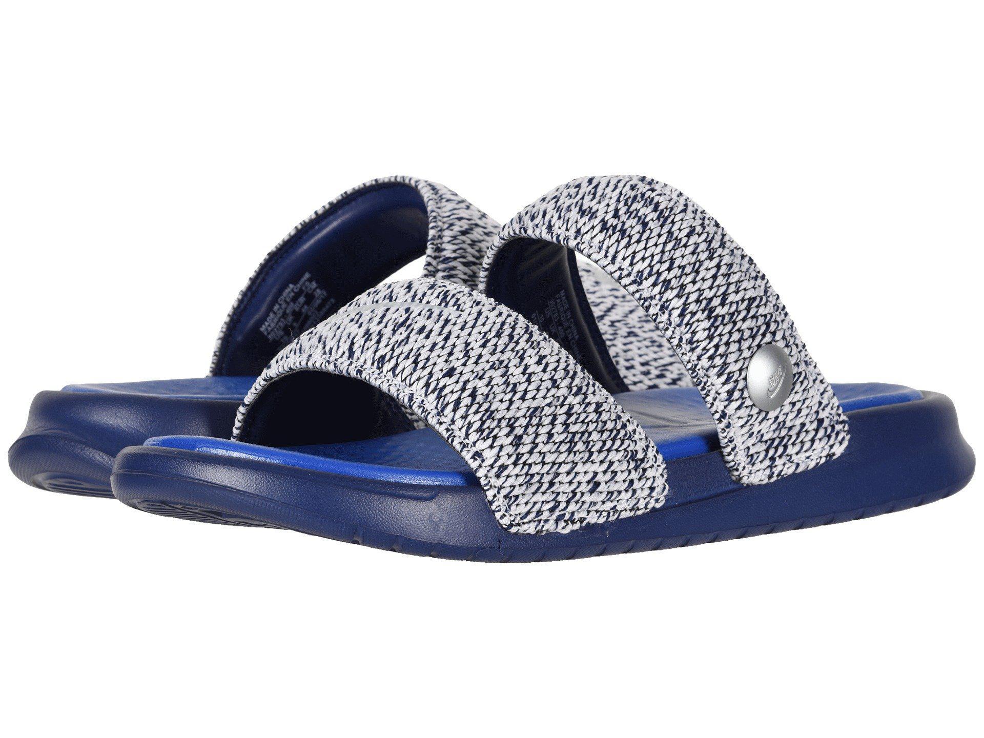 ee583908d195 Lyst - Nike Lab X Pigalle Benassi Duo Ultra Slide (blue) Women s ...