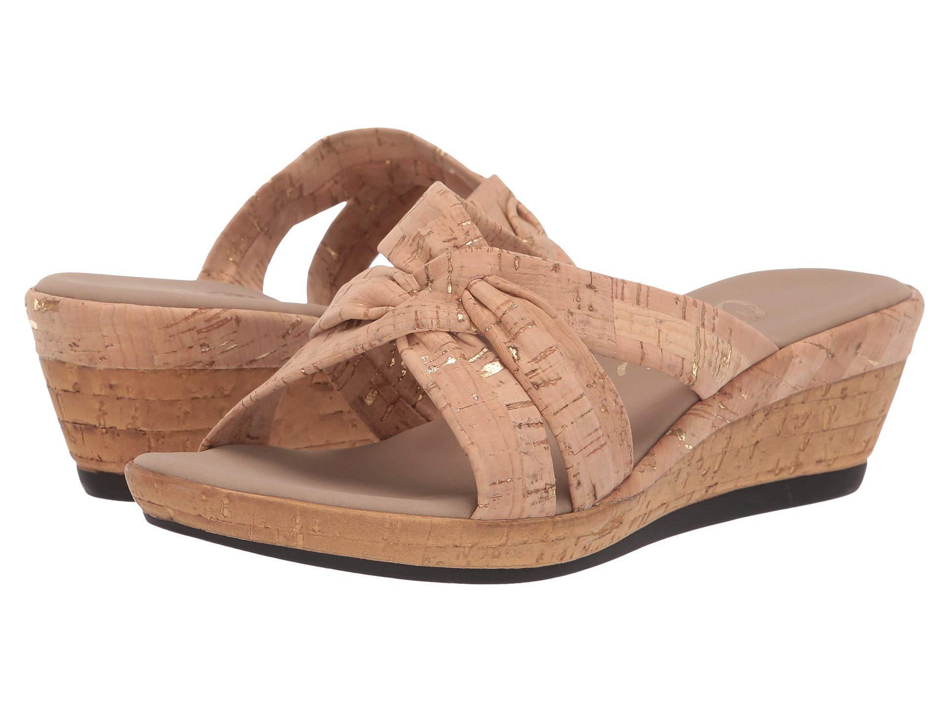 87a812ac6 Lyst - Onex Gayle (cork) Women s Dress Sandals