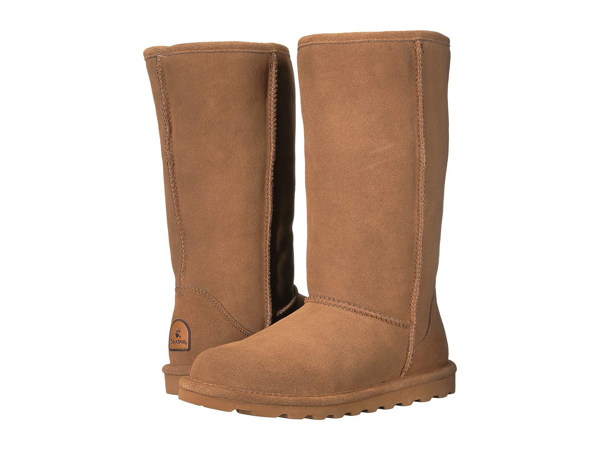 b8e3bb8c67a0 Lyst - BEARPAW Elle Tall (black) Women s Shoes in Brown