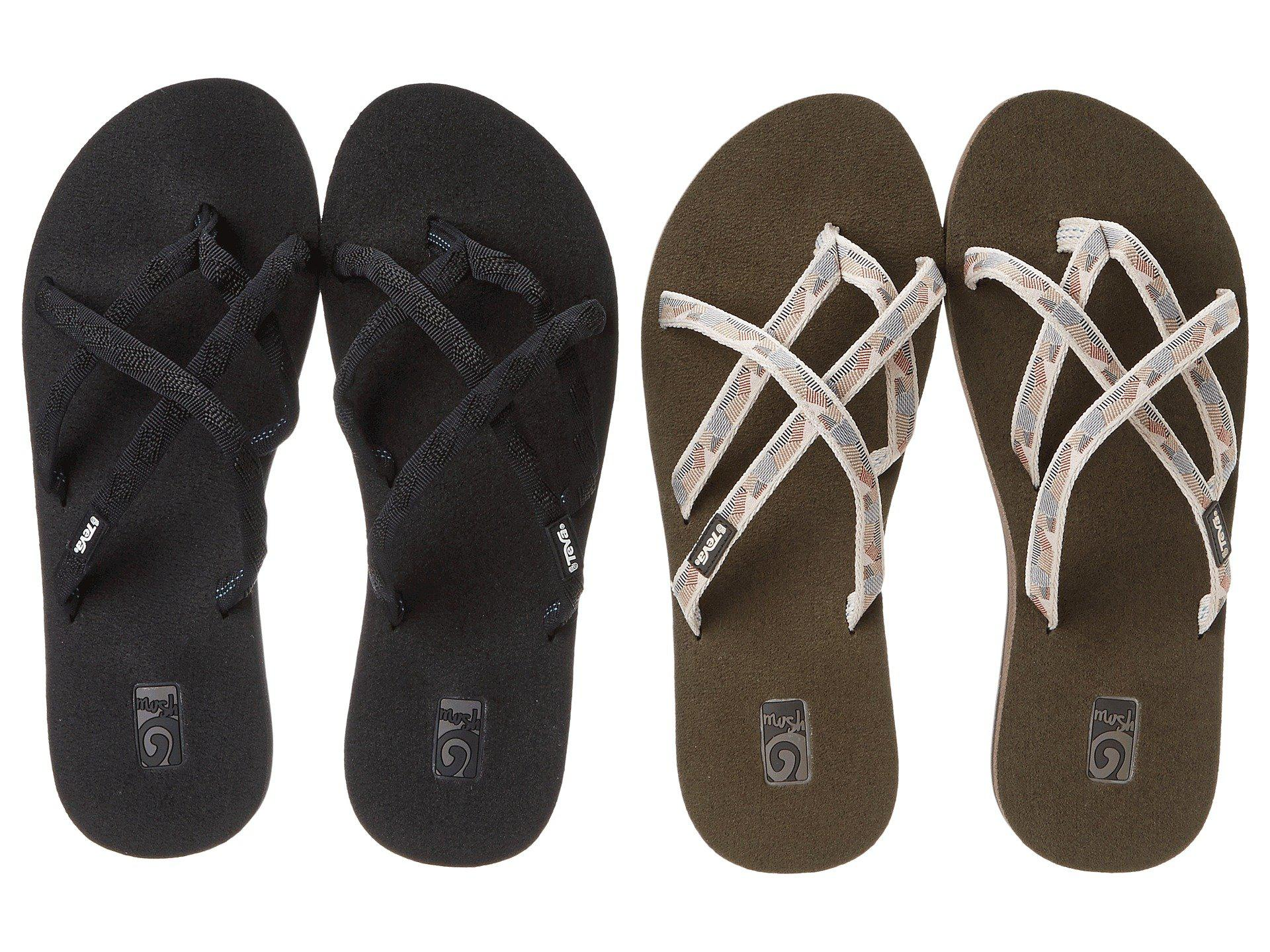 61aa285e0 Teva. Natural Olowahu 2-pack (mbob waterfall Antique Gold) Women s Sandals