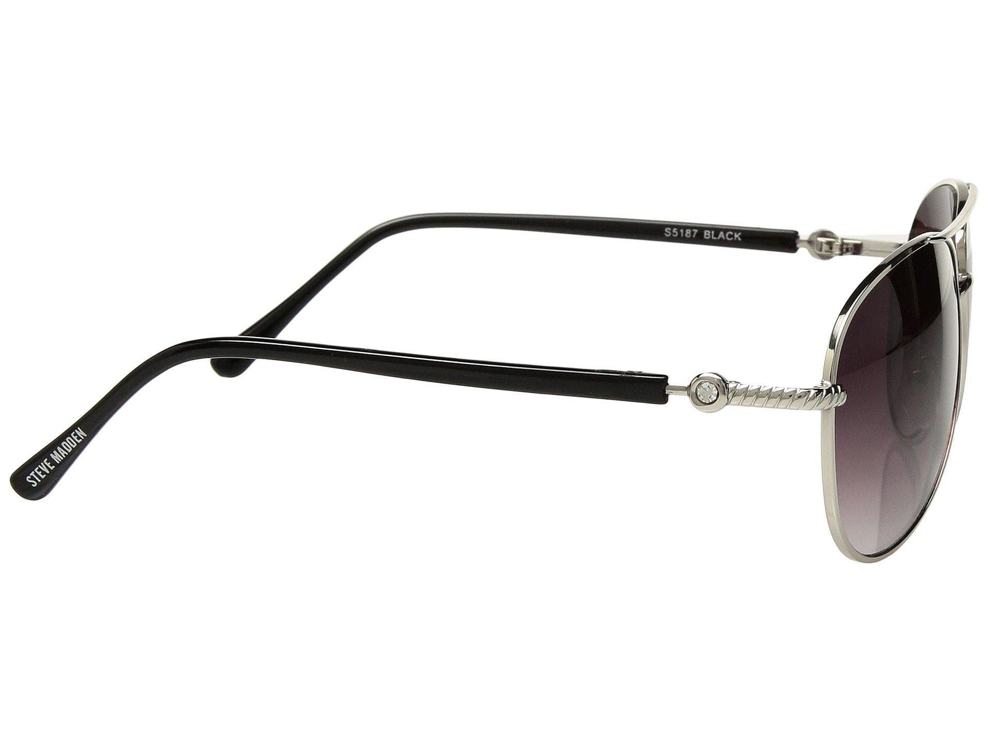 716000bd59 Steve Madden - Black Livey (rose Gold) Fashion Sunglasses - Lyst. View  fullscreen