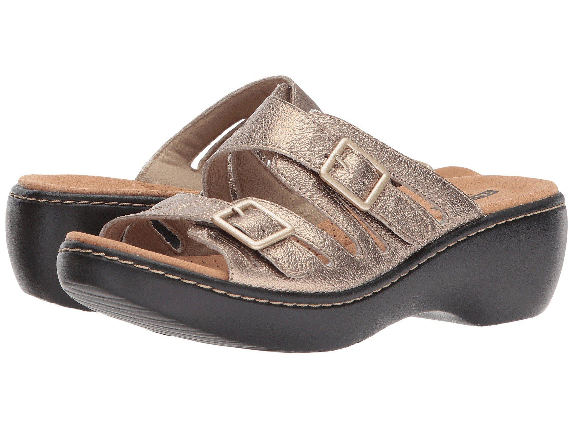 ac5db37ce81 Lyst - Clarks Delana Liri (dark Tan Leather) Women s Shoes - Save 7%
