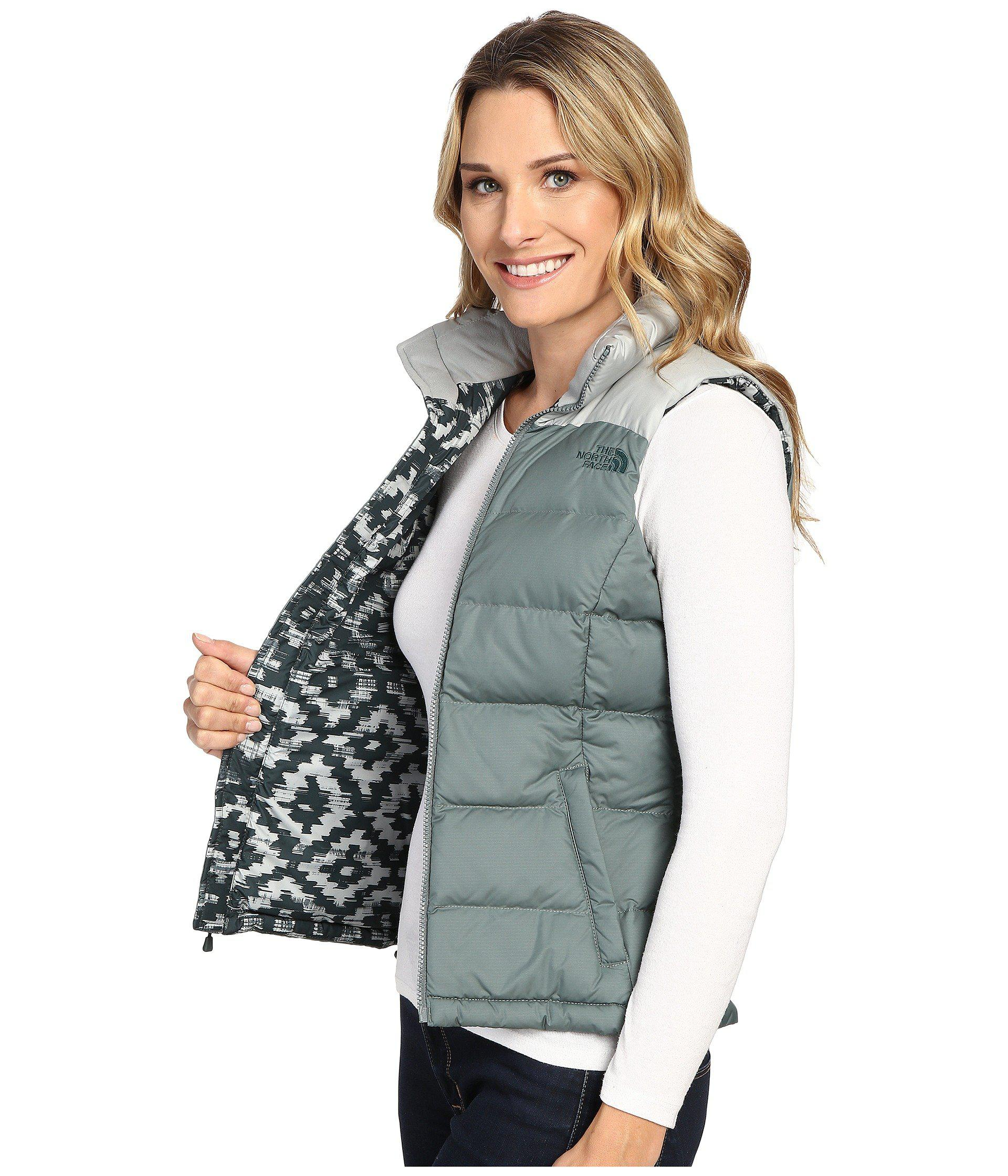 8c580acd658e Lyst - The North Face Nuptse 2 Vest in Green