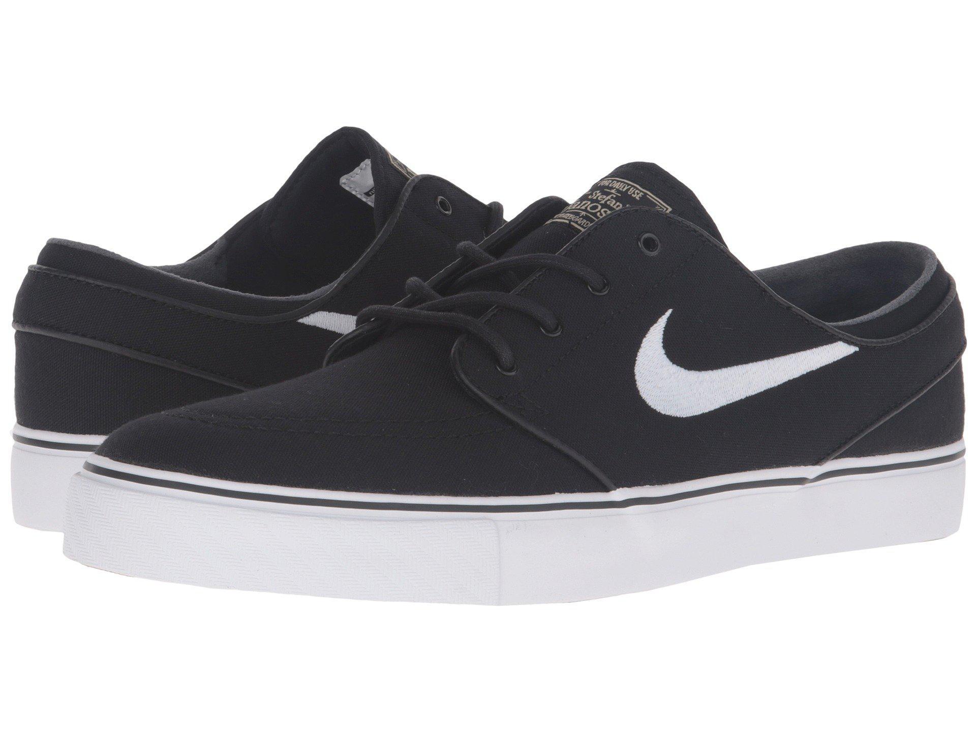cb87f8c40275 Nike. Zoom Stefan Janoski Canvas (black gum Light Brown metallic Gold Star  white) Men s Skate Shoes