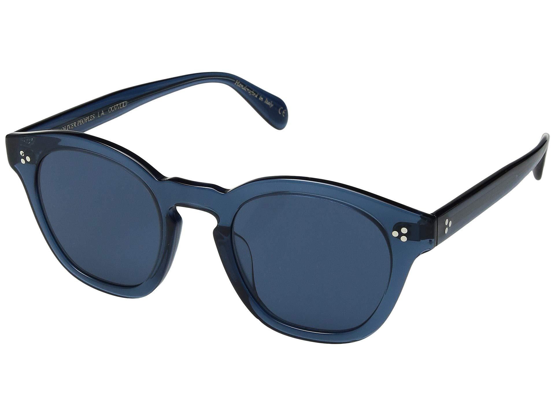 ad5641c70a Lyst - Oliver Peoples Boudreau La (deep Blue blue Lens) Fashion ...