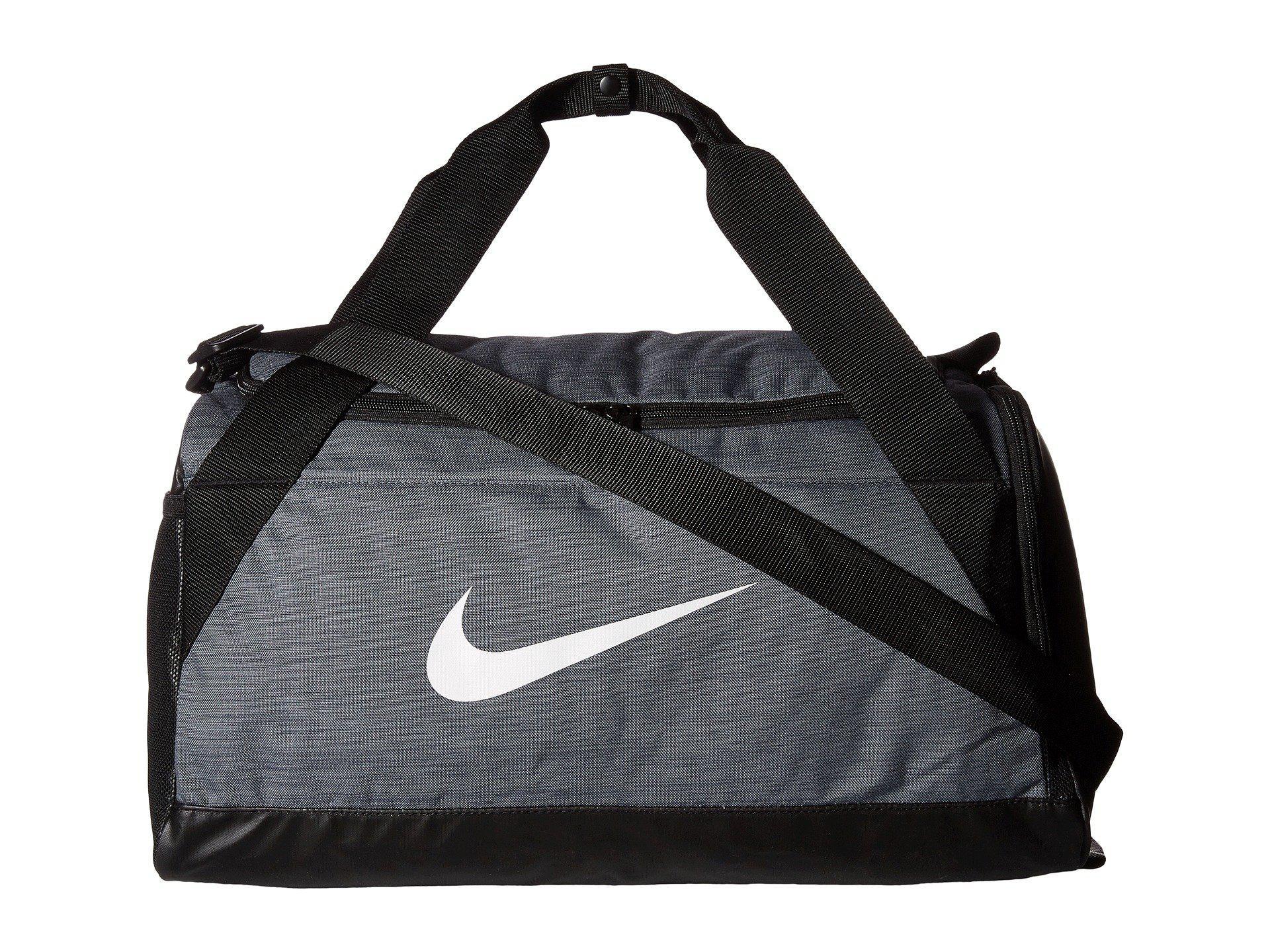 51401f22bcfd Lyst - Nike Brasilia Small Duffel Bag (black black white) Duffel ...