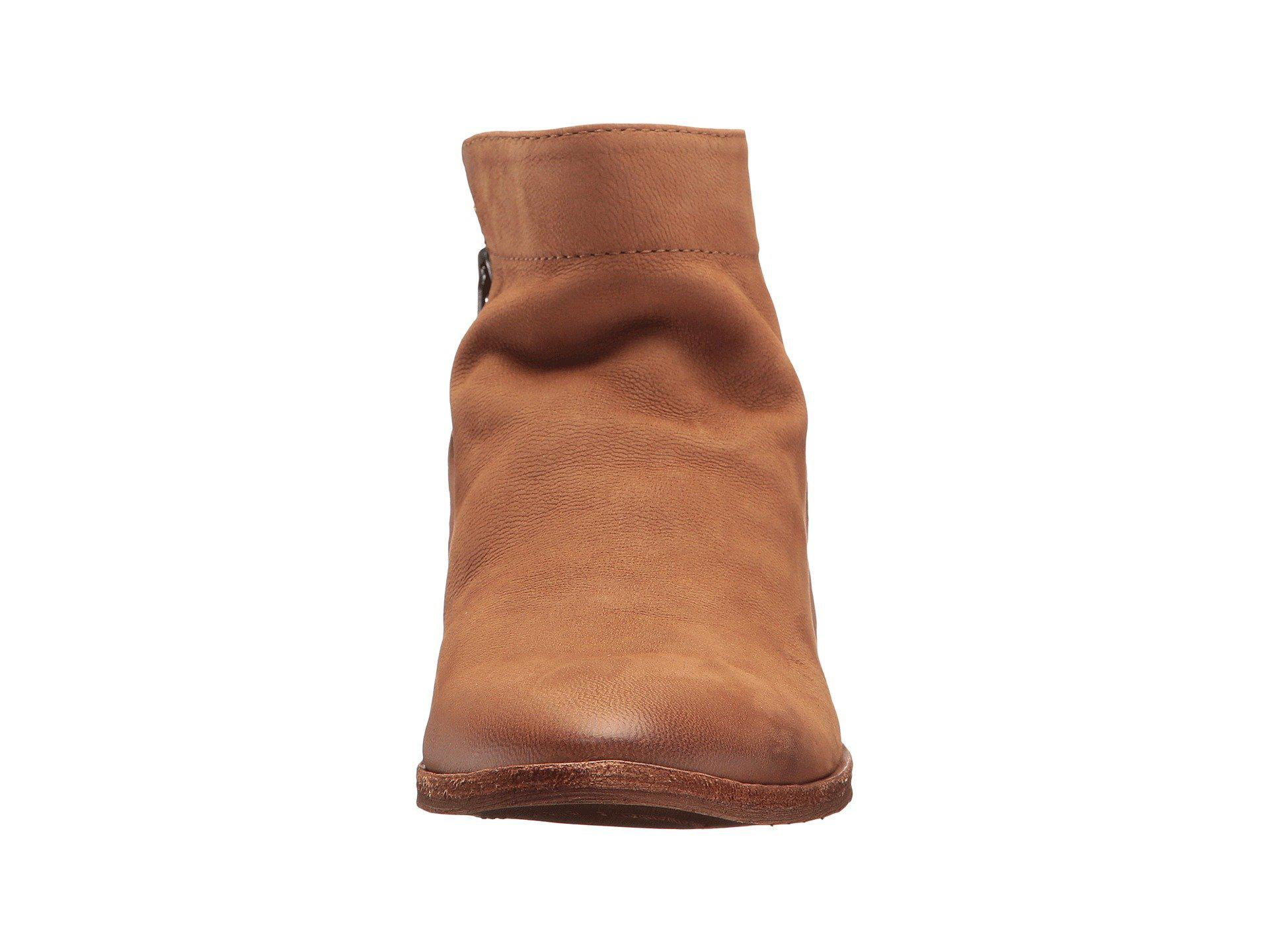 d575f6db7516ee Sam Edelman - Brown Packer (putty Waxy Nubuck Leather) Women s Zip Boots -  Lyst. View fullscreen