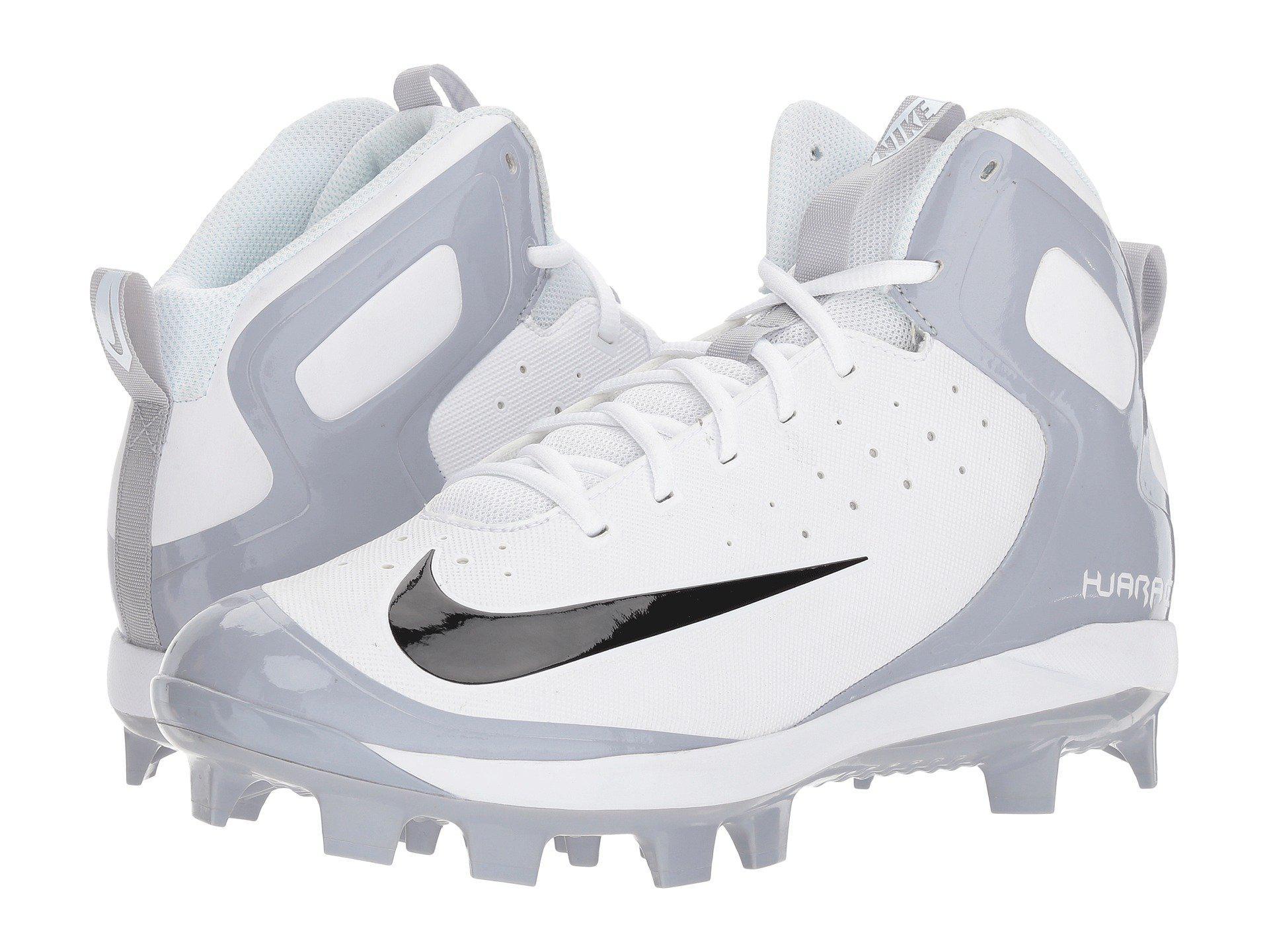 848bd186d296 Lyst - Nike Alpha Huarache Pro Mid Mcs in White for Men