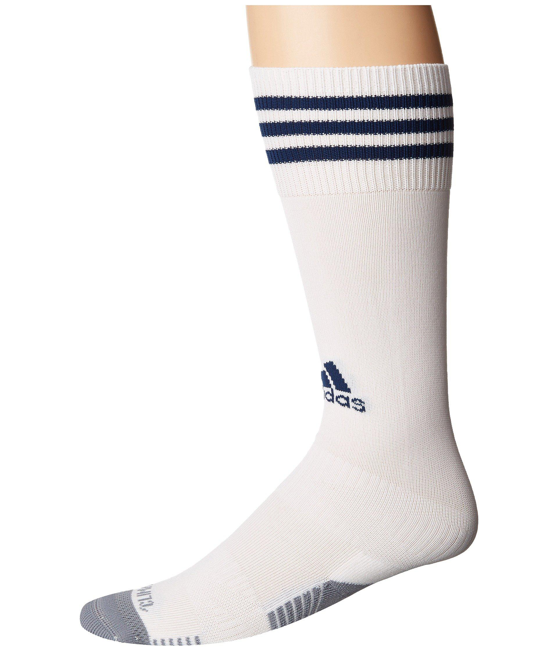 99a61b2ee Lyst - adidas Copa Zone Cushion Iii Otc Sock (white/ New Navy) Crew ...