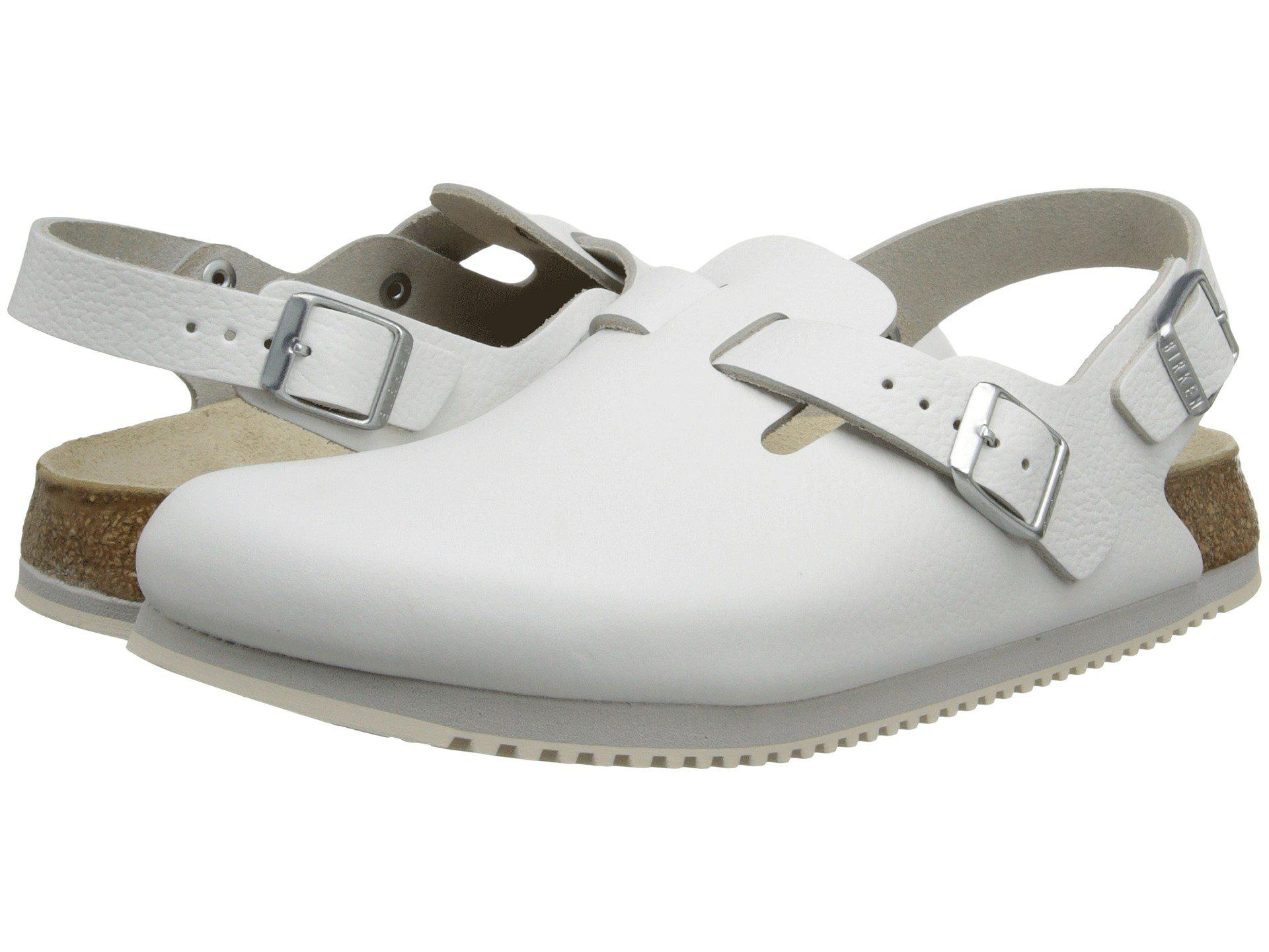 b6944f79cc8c Lyst - Birkenstock Tokyo Super Grip (white Leather) Shoes in White