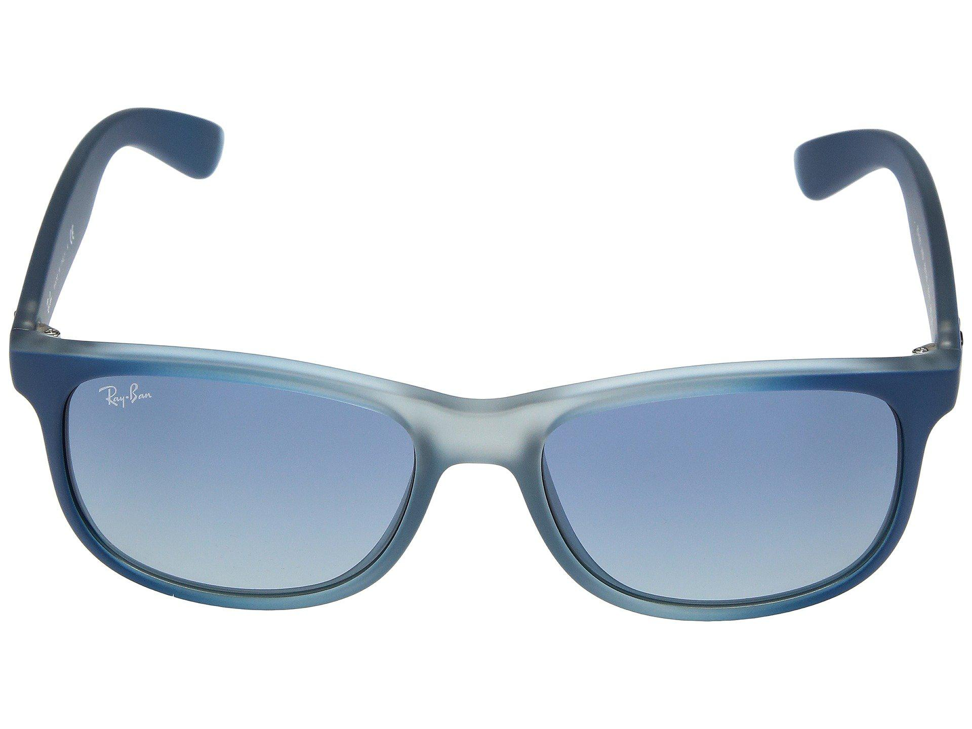 20348d6f5ae Ray-Ban - Rb4202 Andy 55mm (blue-rubber Light Grey Translucent grey. View  fullscreen