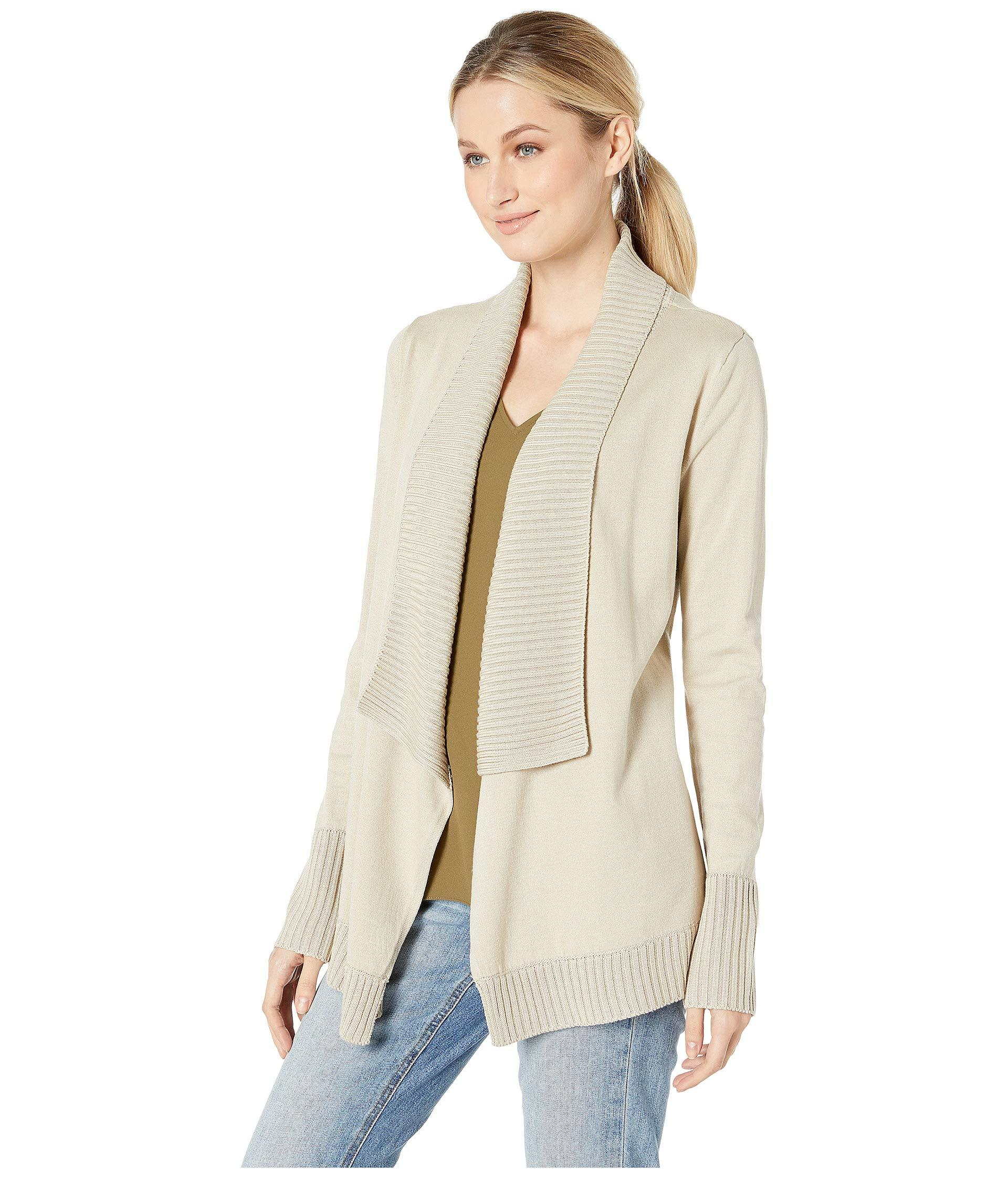0c673119c7f7a Lyst - Kut From The Kloth Amabelle Rib Knit Sweater (khaki) Women s Sweater  in Natural