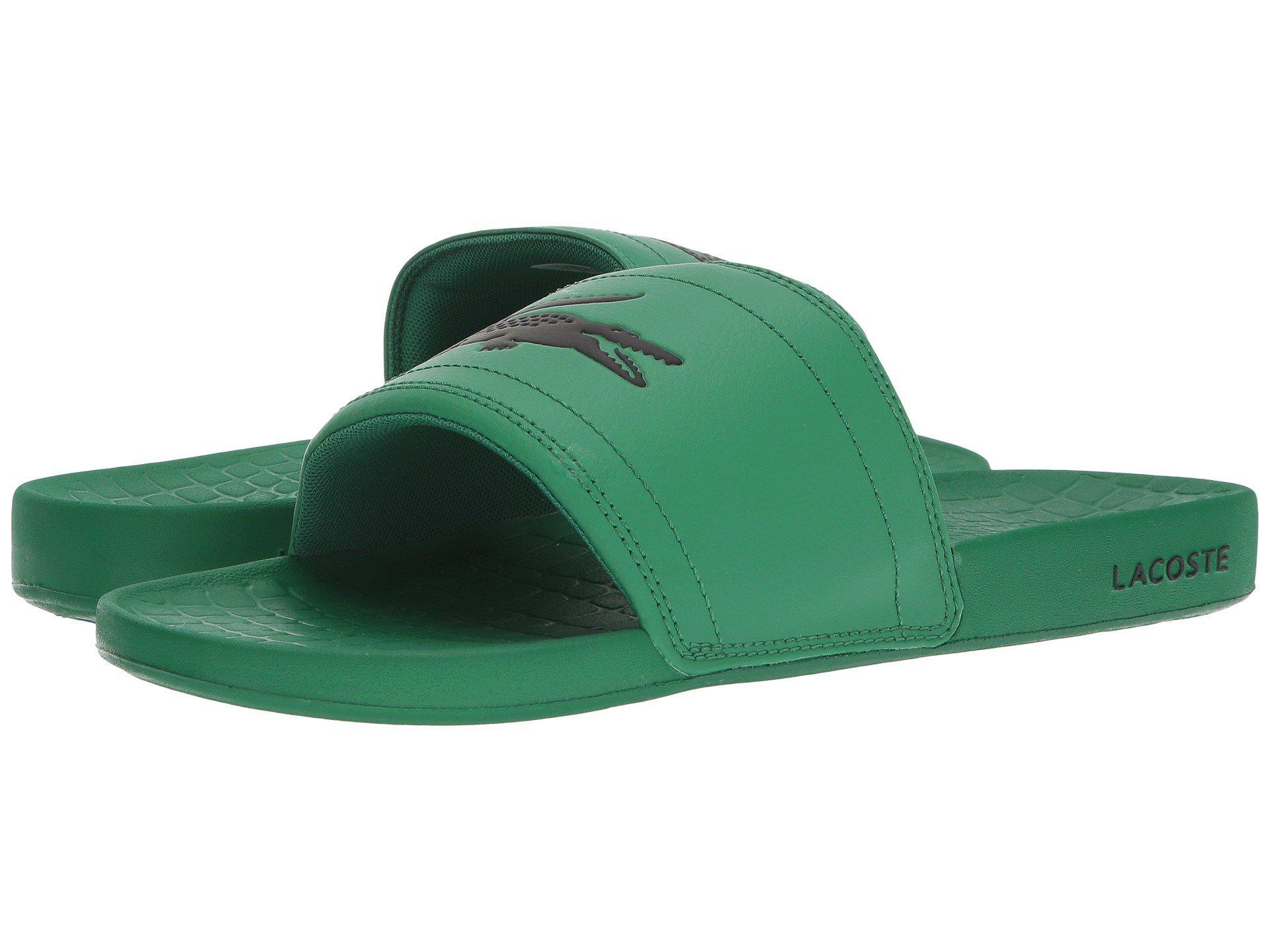 b0b5e1b7a6731 Lyst - Lacoste Fraisier 118 1 Us (green black) Men s Shoes in Green ...