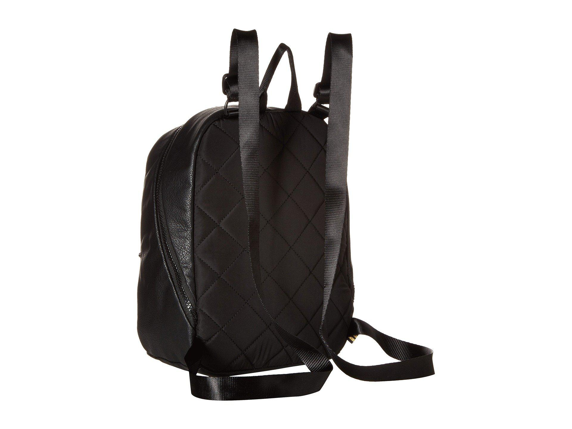 Lyst - adidas Originals National Compact Premium Backpack (black Pu ... 8e3a59bb6db07