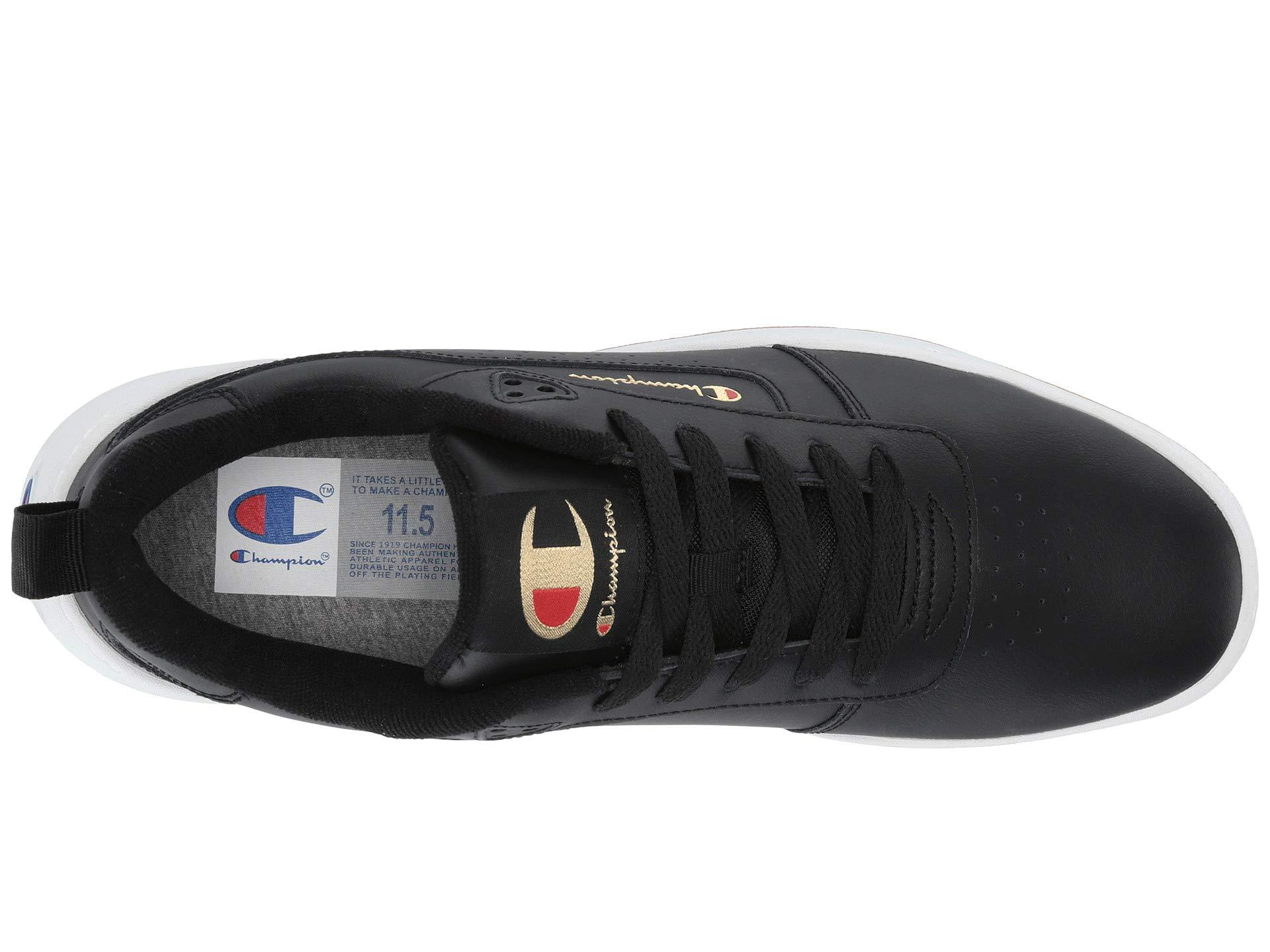 84e92d9049b Champion - Super C Court Classic Leather (black) Men s Classic Shoes for Men  -. View fullscreen