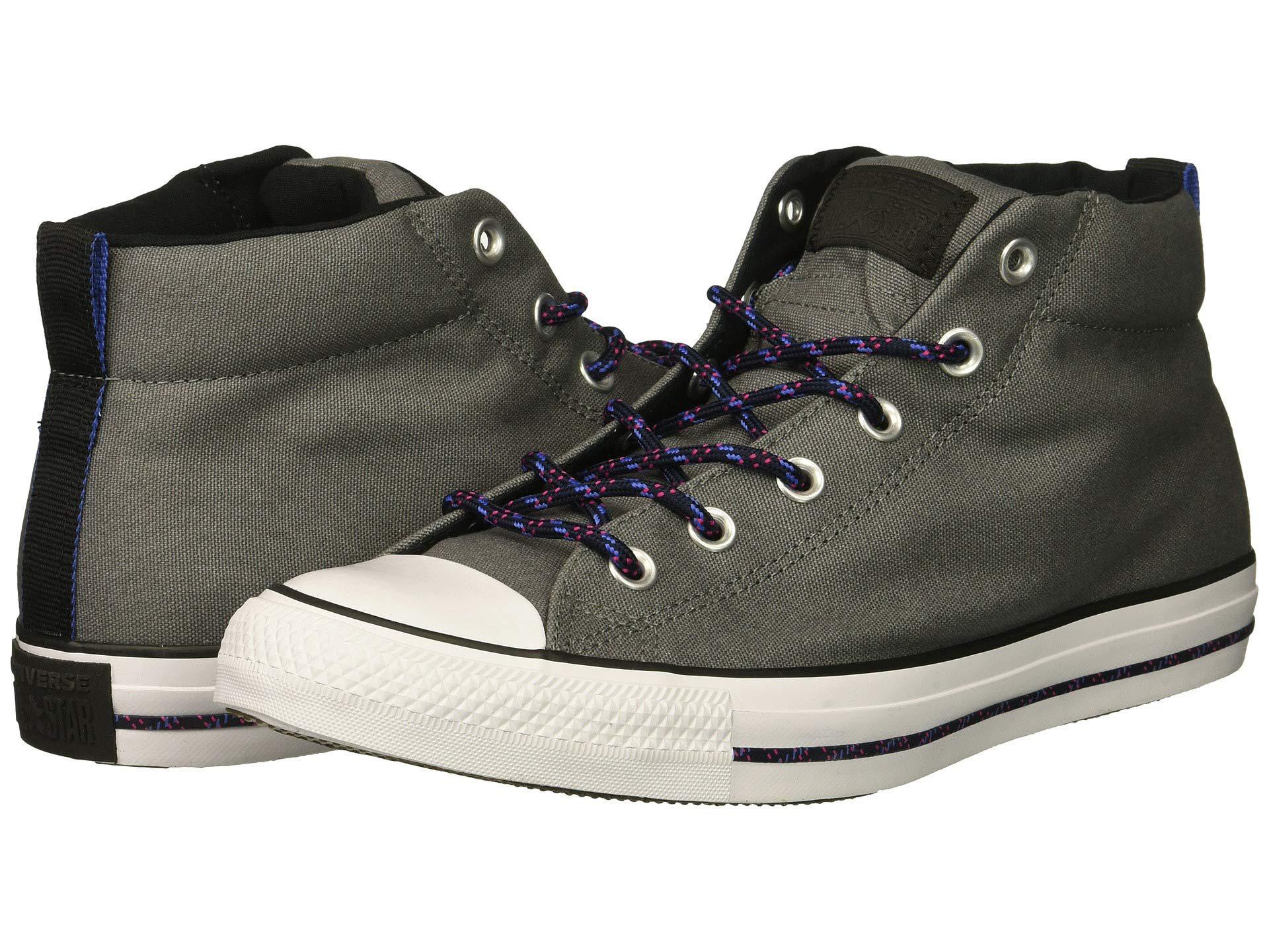c8afd1b4897 Lyst - Converse Chuck Taylor(r) All Star(r) Street Mid (mason black ...