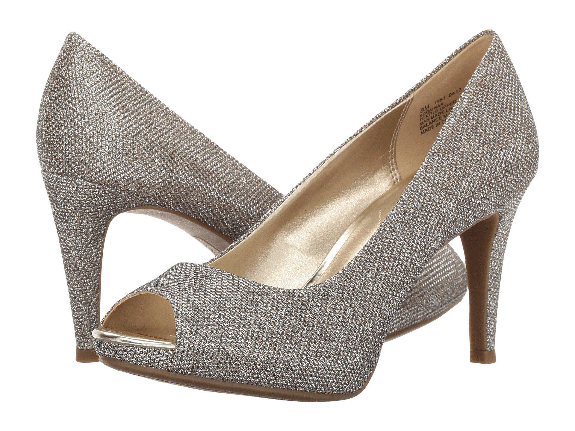 8cd52a133674 Lyst - Bandolino Rainaa (black Fabric) Women s Shoes