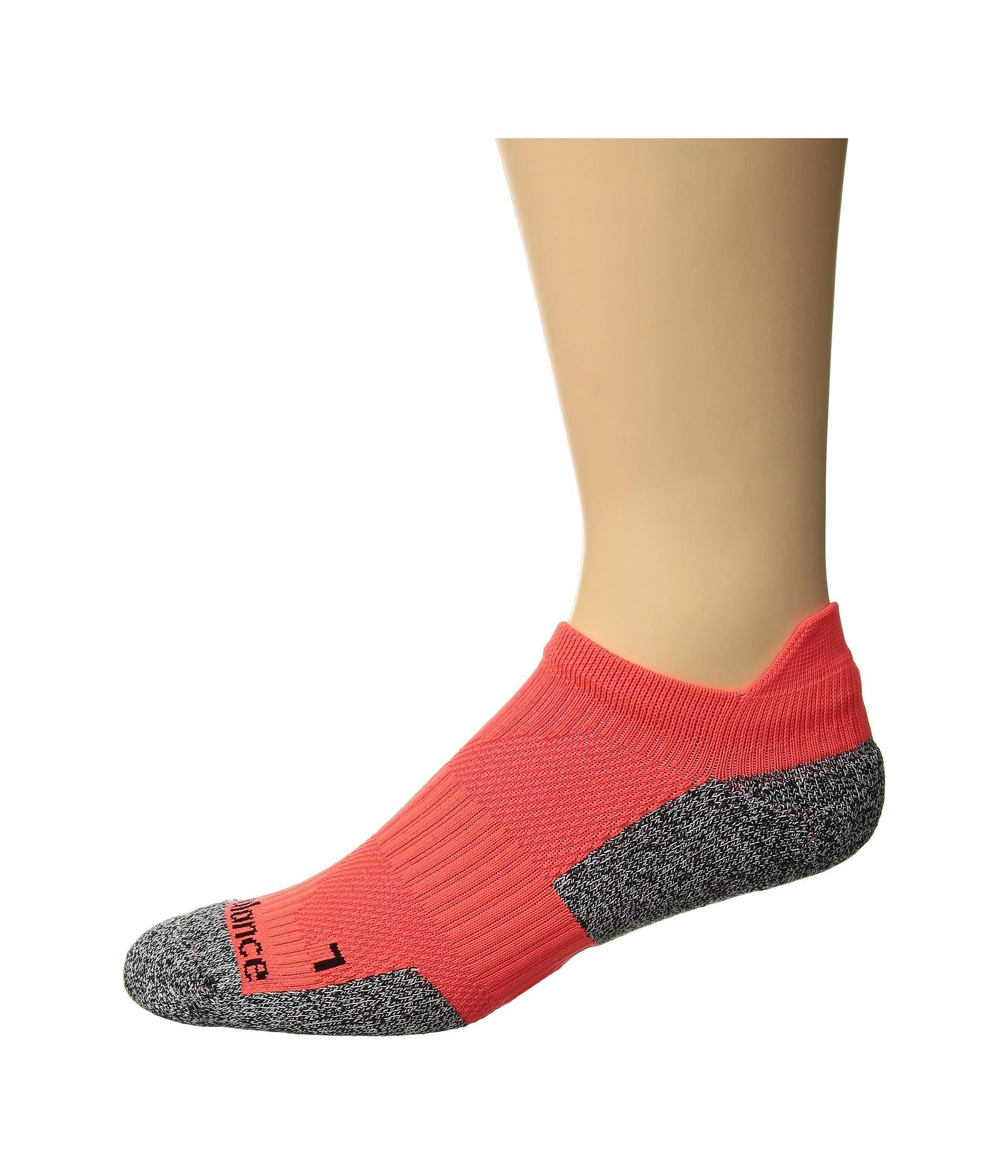 fba904eeadffc Lyst - New Balance Run Cushioned No Show Tab 1-pair (grey) No Show ...