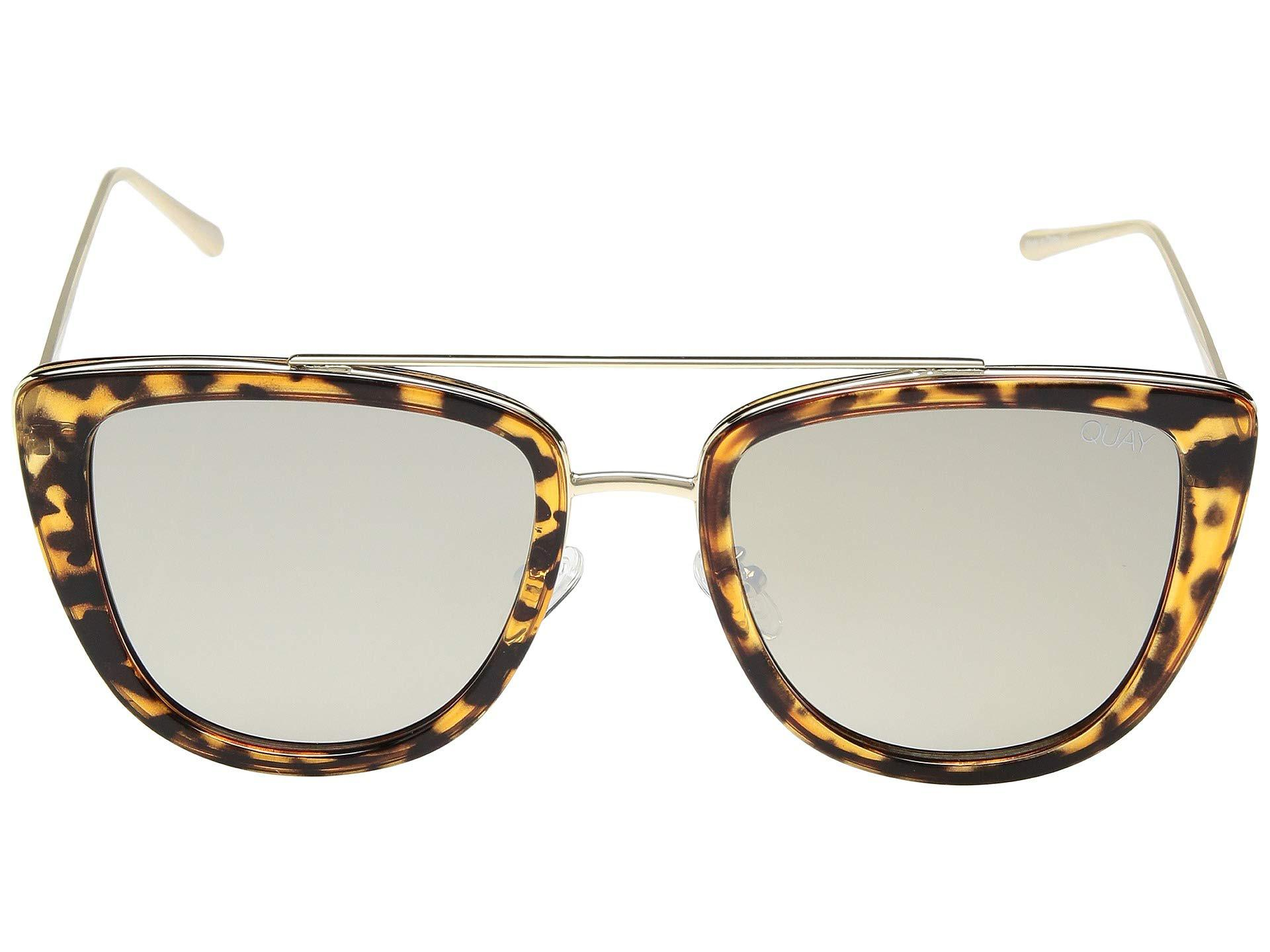 2df979f2dfea3 Quay - Metallic French Kiss (clear rose) Fashion Sunglasses - Lyst. View  fullscreen