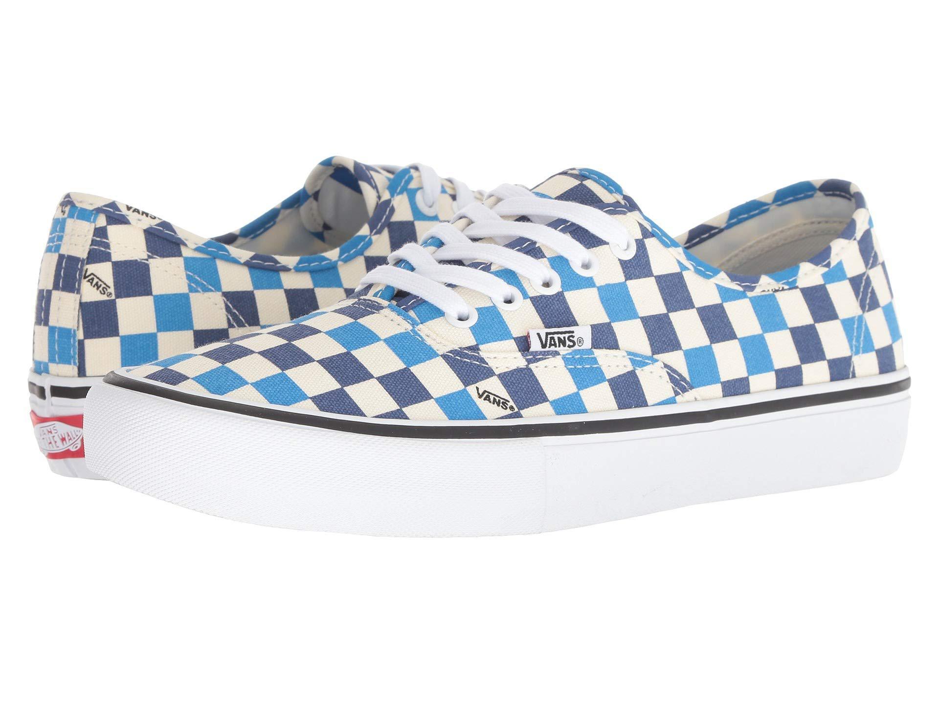 530cd864f82ba4 Vans - Blue Authentictm Pro (true White true White) Men s Skate Shoes for.  View fullscreen