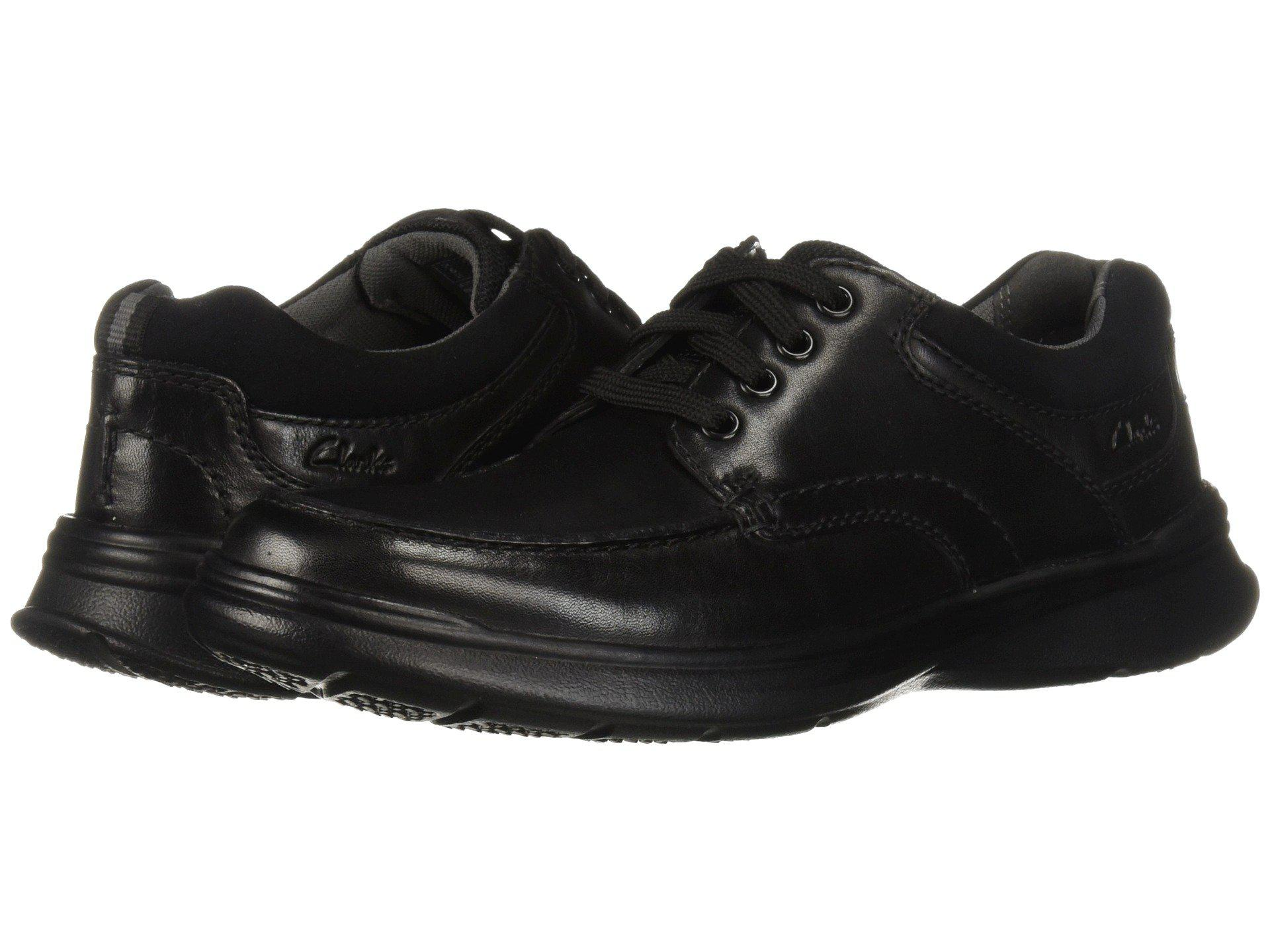13b1e438437 Clarks - Cotrell Edge (black Smooth Leather) Men s Shoes for Men - Lyst.  View fullscreen