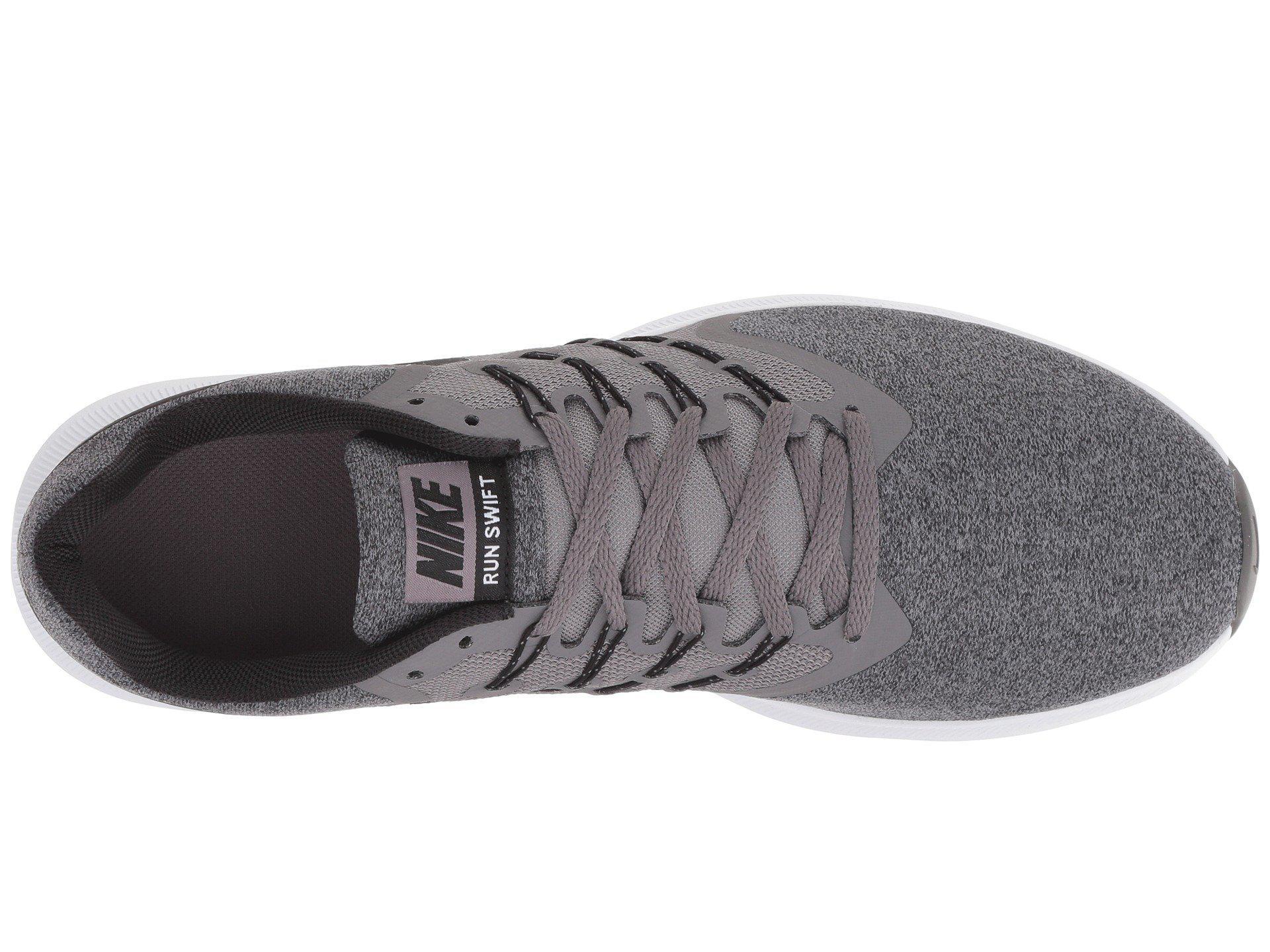 874f23f28fecc1 Nike - Multicolor Run Swift (gunsmoke black white) Men s Running Shoes for.  View fullscreen