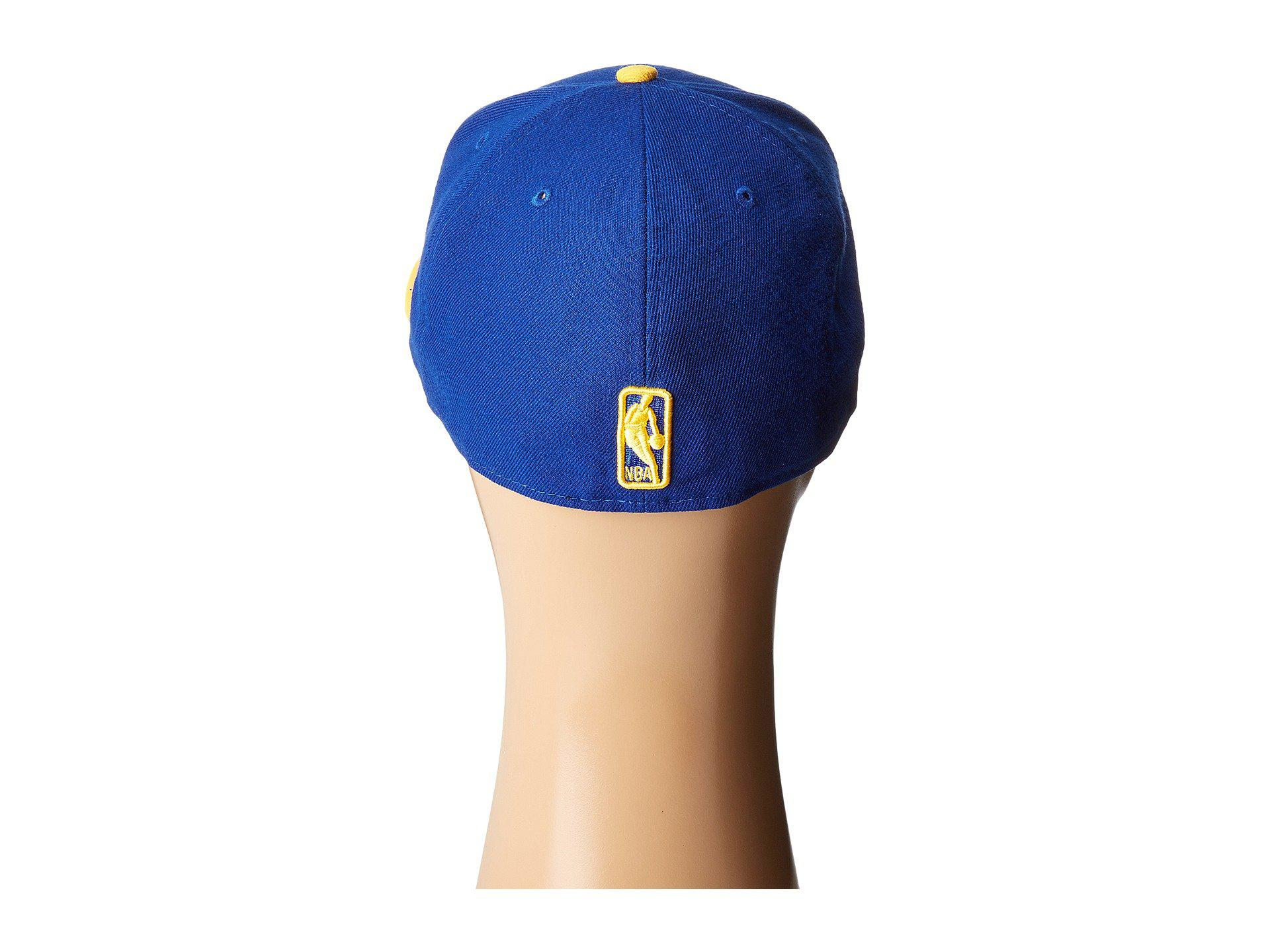 c77d056d5f4 Lyst - Ktz Golden State Warriors (team Two-tone) Baseball Caps for Men