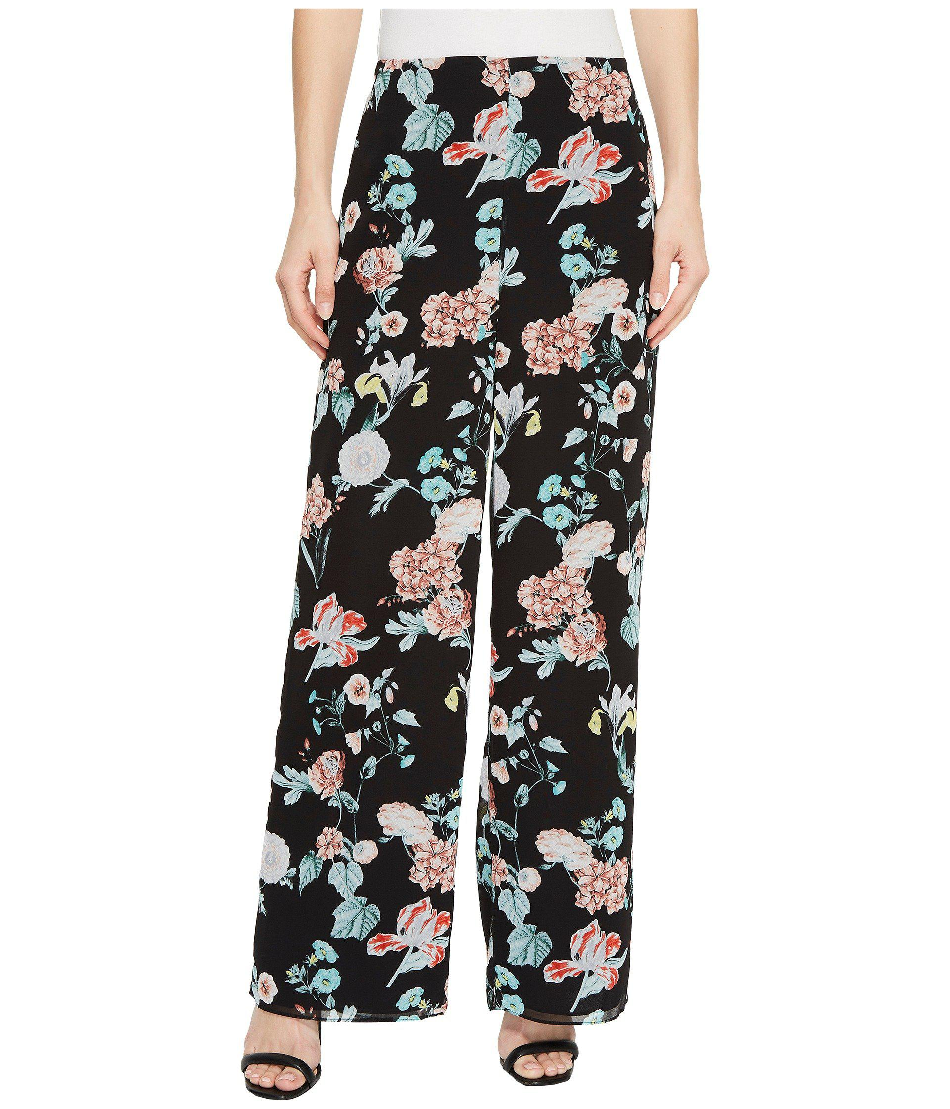 Footaction Vince Camuto Floral Wide-Leg Ruffle Pants Sale Huge Surprise Find Great Cheap Price Deals For Sale Sale Fake Dc6oBsWUfI