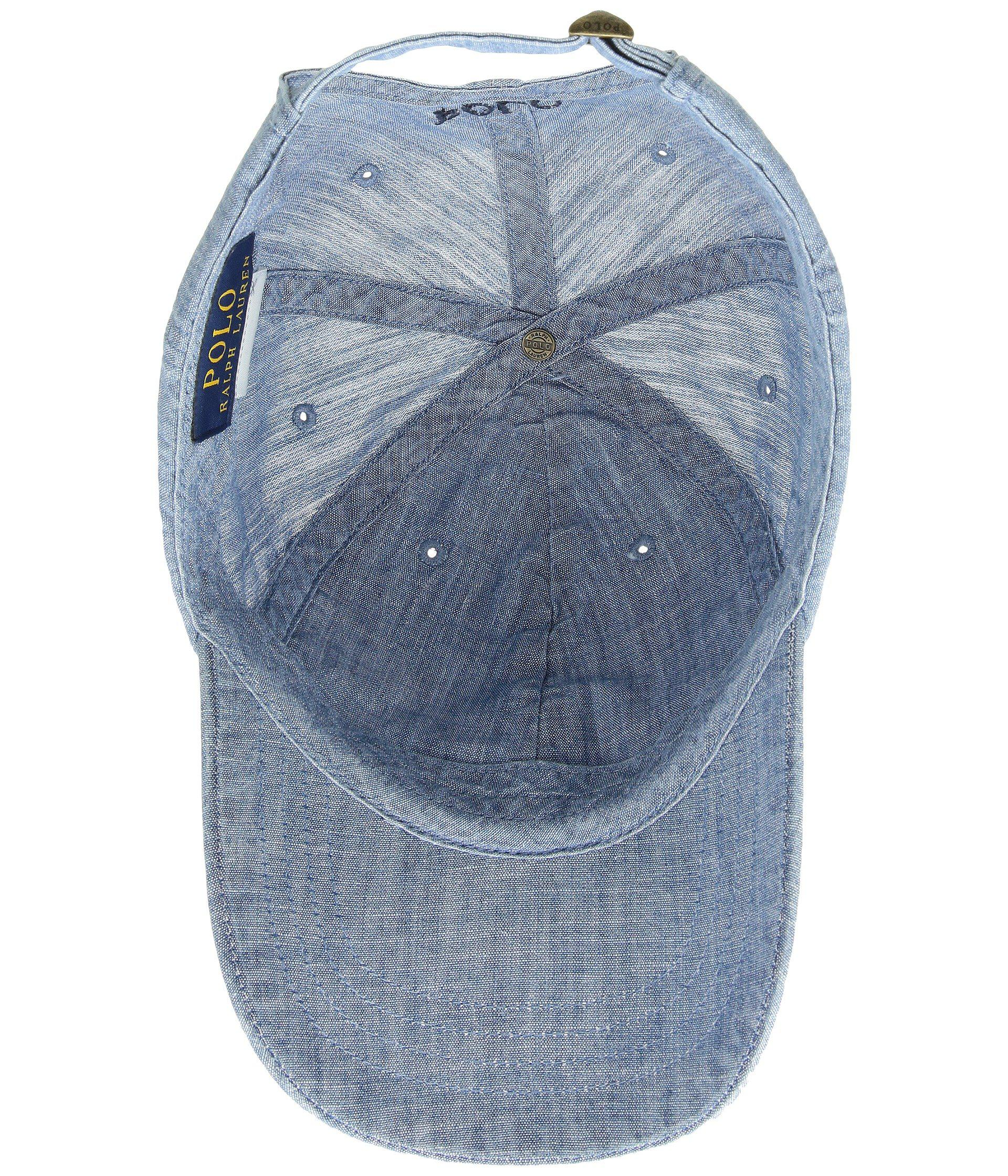 Lyst - Polo Ralph Lauren Classic Sport Cotton Chino Hat (chambray ... 35ae9f1aff5f