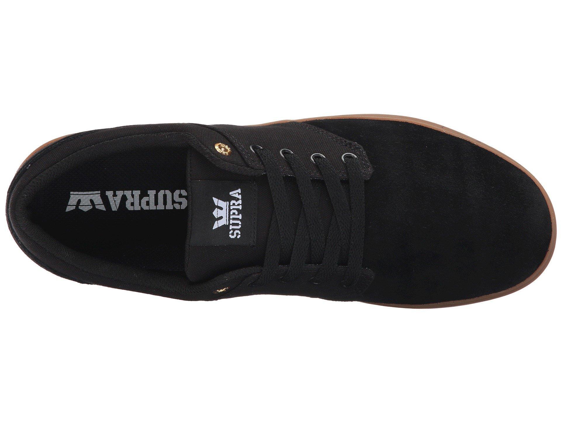 fc43f5567184 Lyst - Supra Chino Court (tan gum) Men s Skate Shoes in Black for Men