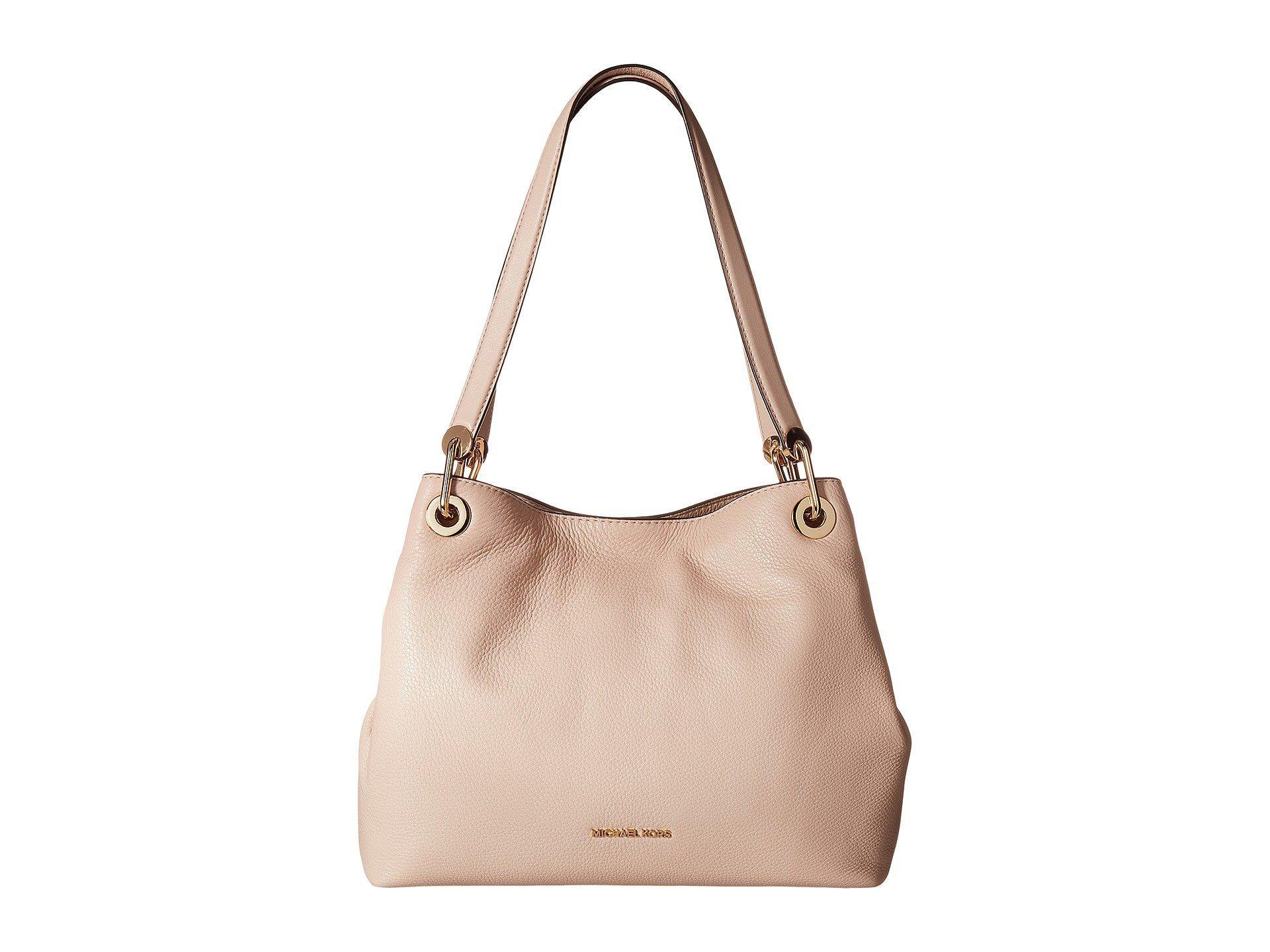 bb51635e41a7 MICHAEL Michael Kors. Women s Pink Raven Large Shoulder Tote (mushroom)  Tote Handbags