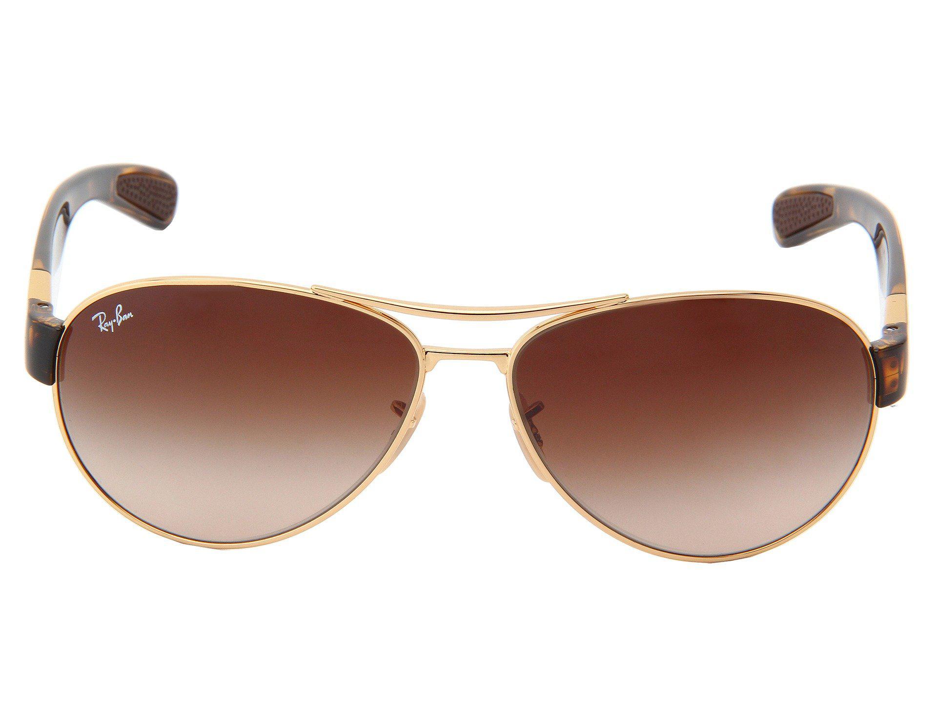 30ebe1c929 Ray-Ban - Brown Rb3509 63mm (gunmetal green) Fashion Sunglasses - Lyst.  View fullscreen