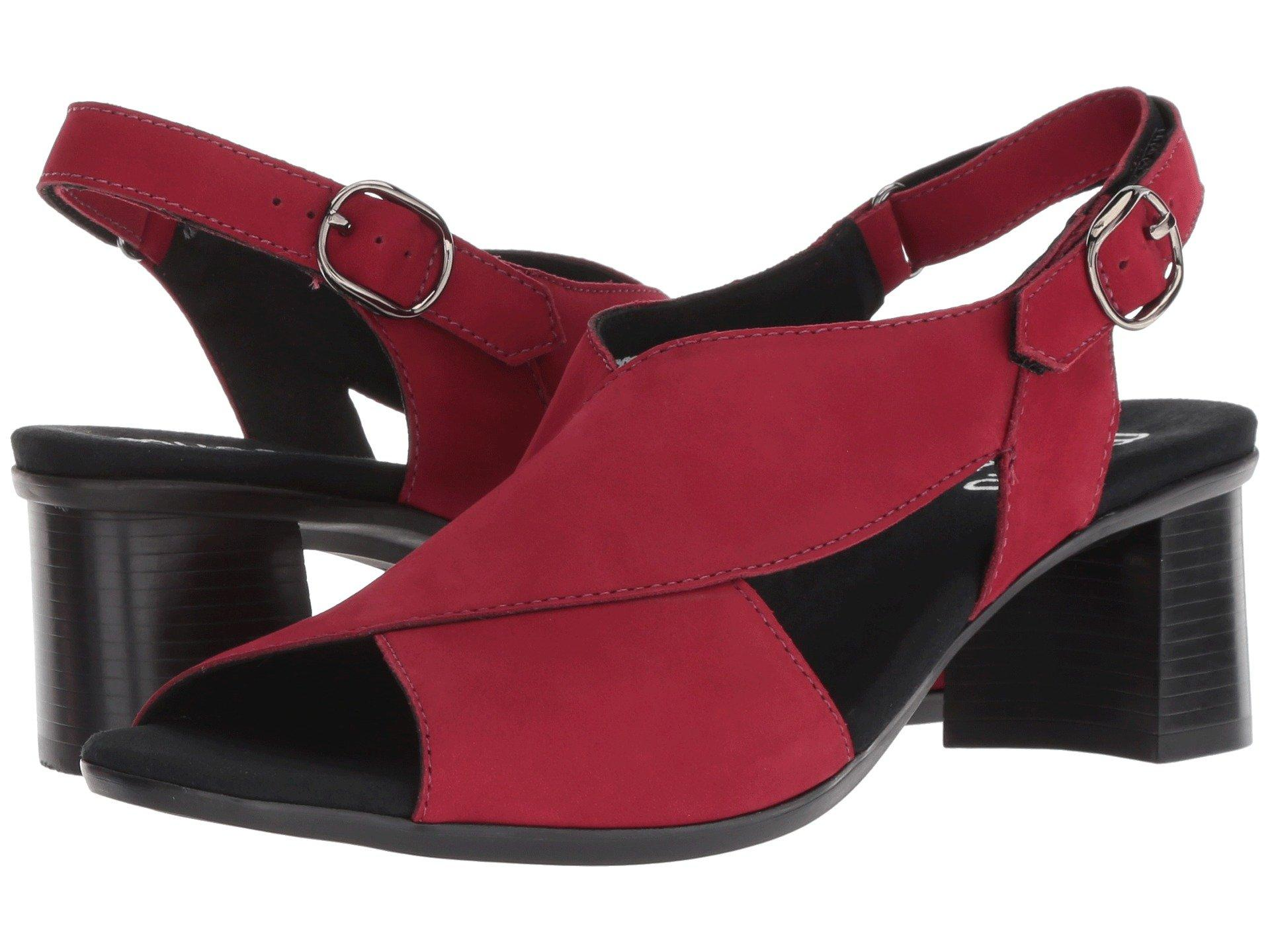 895dd6f2171 Lyst - Munro Laine (off-white Leather) Women s Sandals in Red