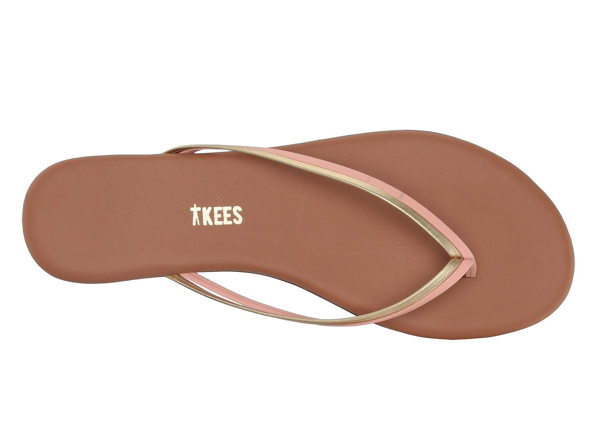 0f1e6b7eb23 TKEES - Multicolor Flip-flop-duos (oyster Shell) Women s Toe Open Shoes.  View fullscreen