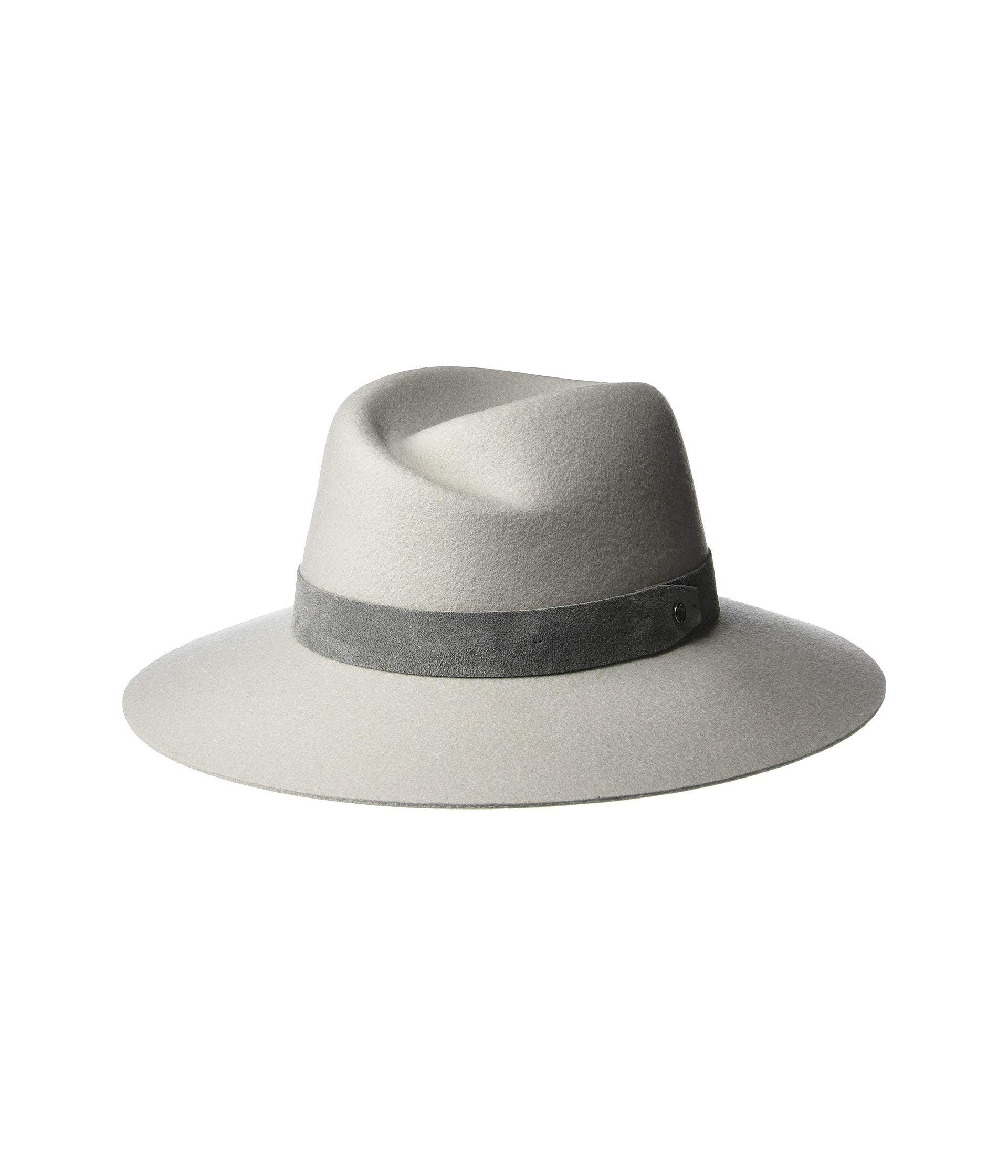 Lyst - Rag   Bone Zoe Fedora (dove) Fedora Hats in Gray 7988666ea9f2