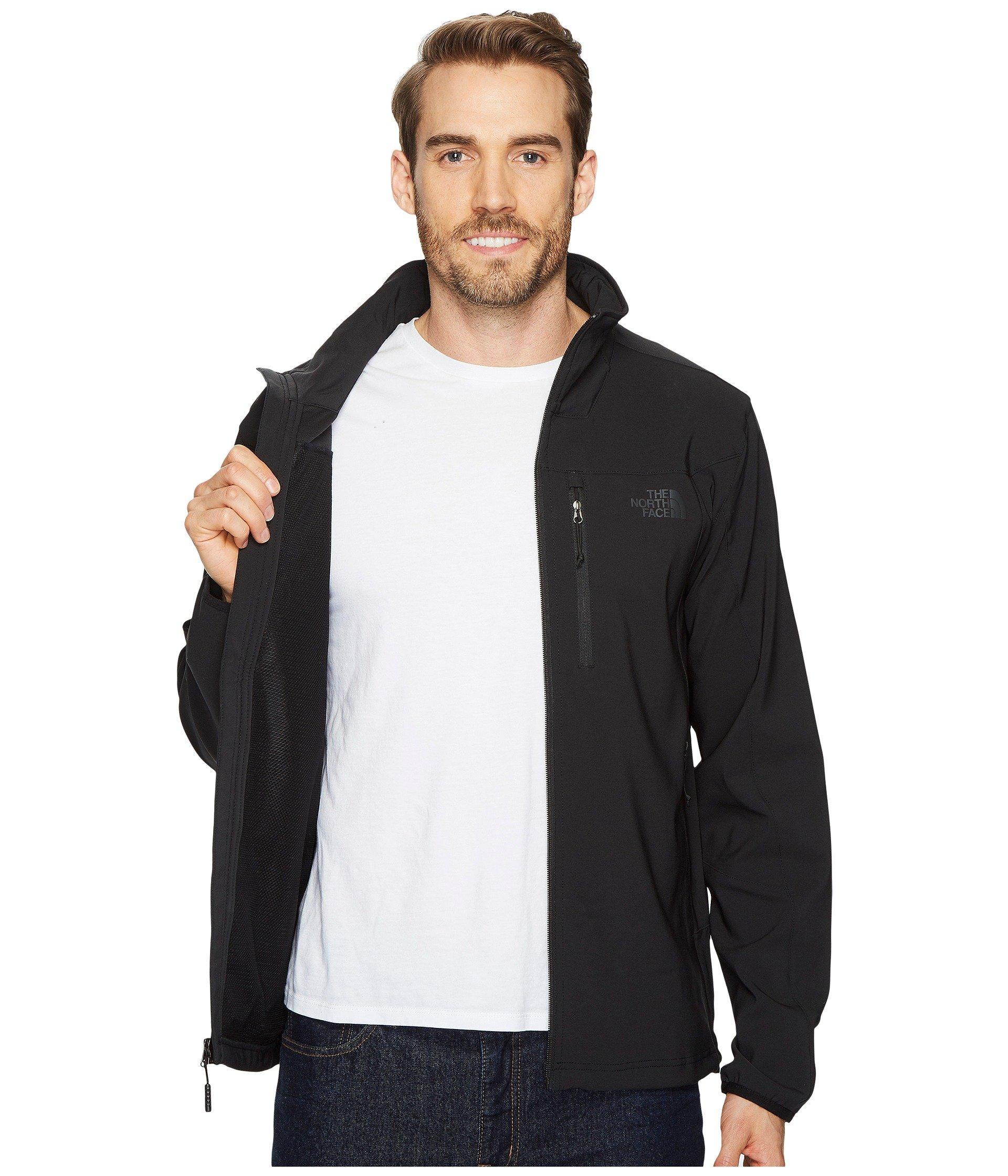 d549d3338e06f The North Face Apex Nimble Jacket (tnf Black/tnf Black) Men's Coat ...