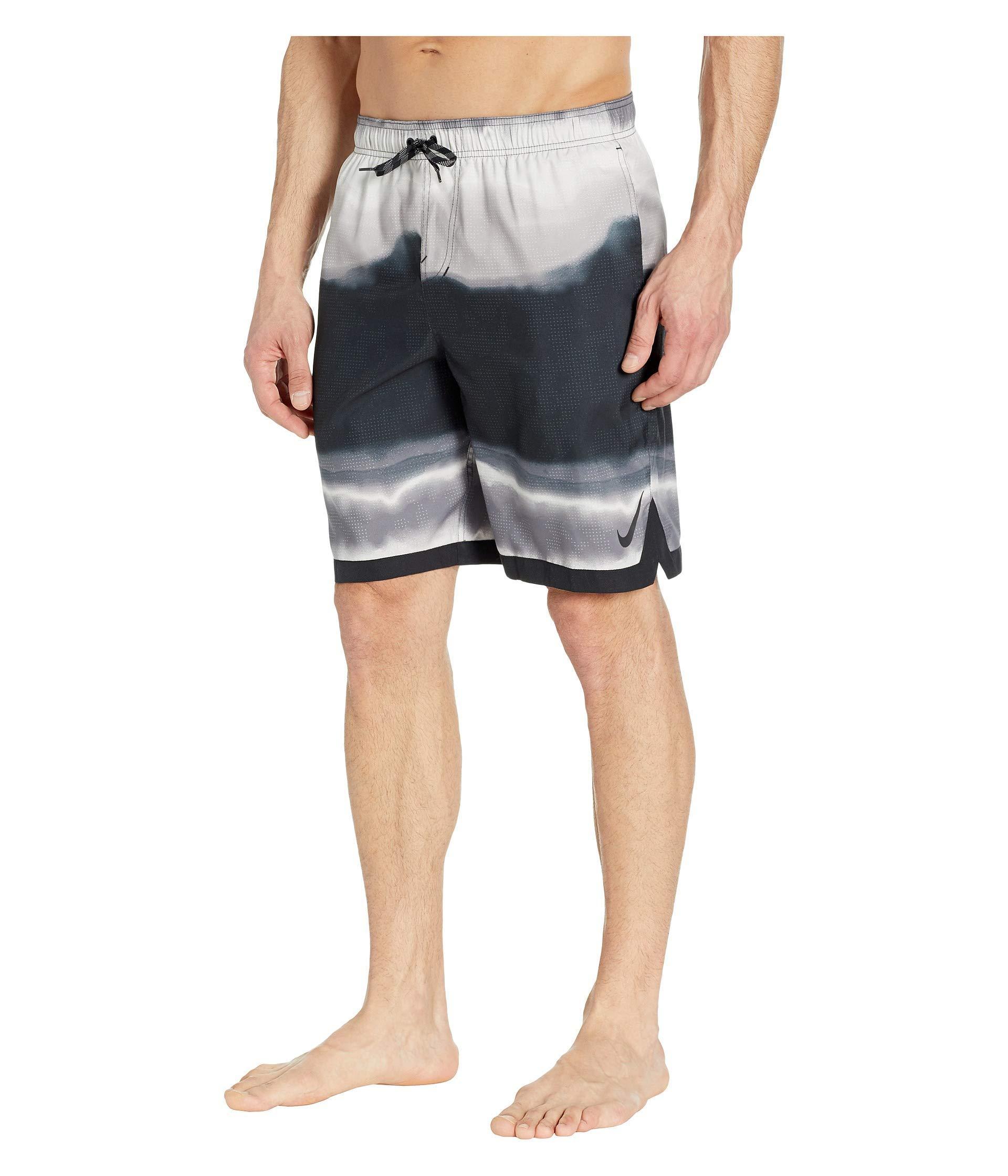fee94595c77 Lyst - Nike 9 Optic Halo Horizon Volley Shorts (black) Men's Swimwear in  Black for Men