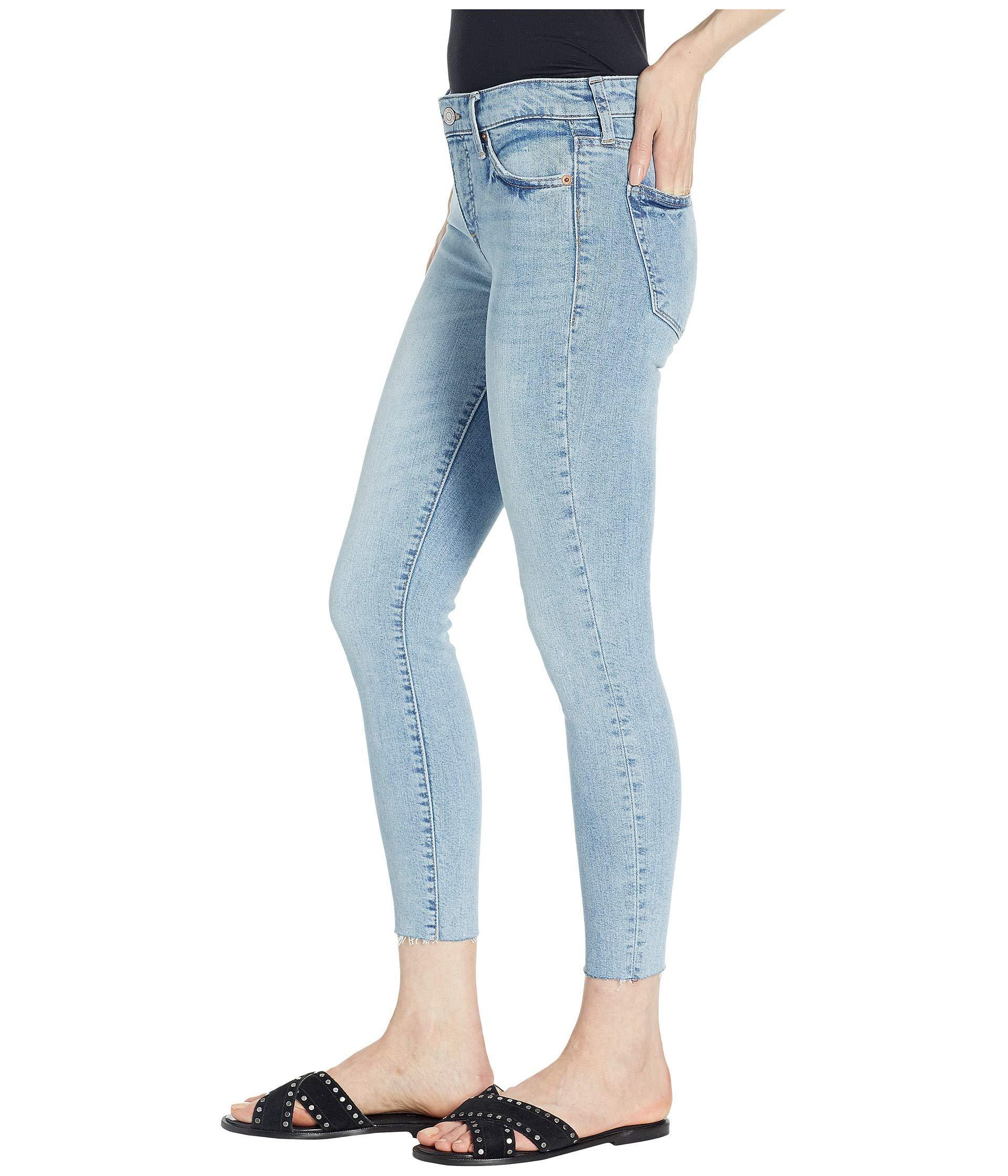 ebda315435d4a Lyst - Lucky Brand Ava Crop Jeans In Oneida (oneida) Women's Jeans in Blue