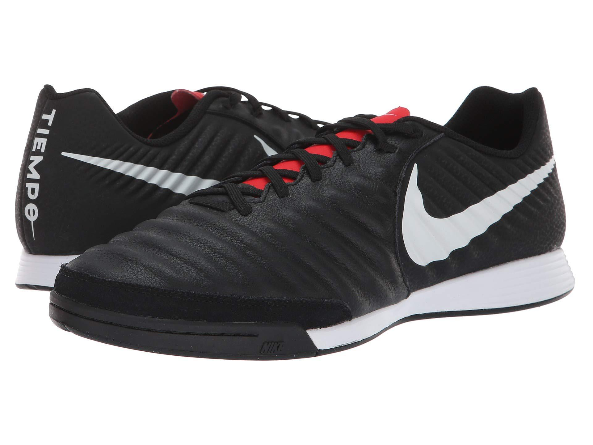 05d5393b7e7 Nike Tiempo Legendx 7 Academy Ic (black pure Platinum light Crimson ...