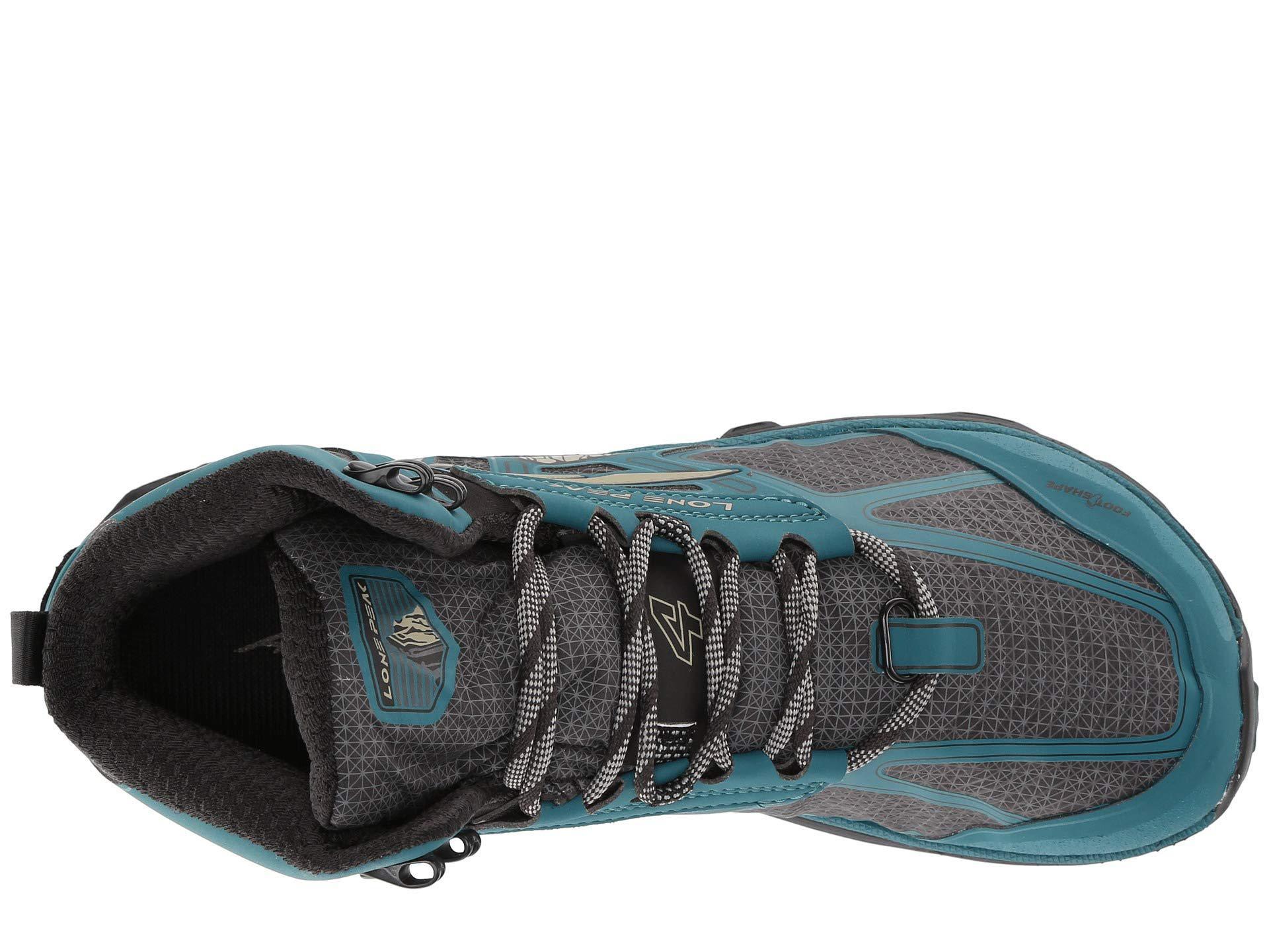 Altra - Lone Peak 4 Mid Rsm (gray purple) Women s Shoes - Lyst. View  fullscreen b5a819f5d88