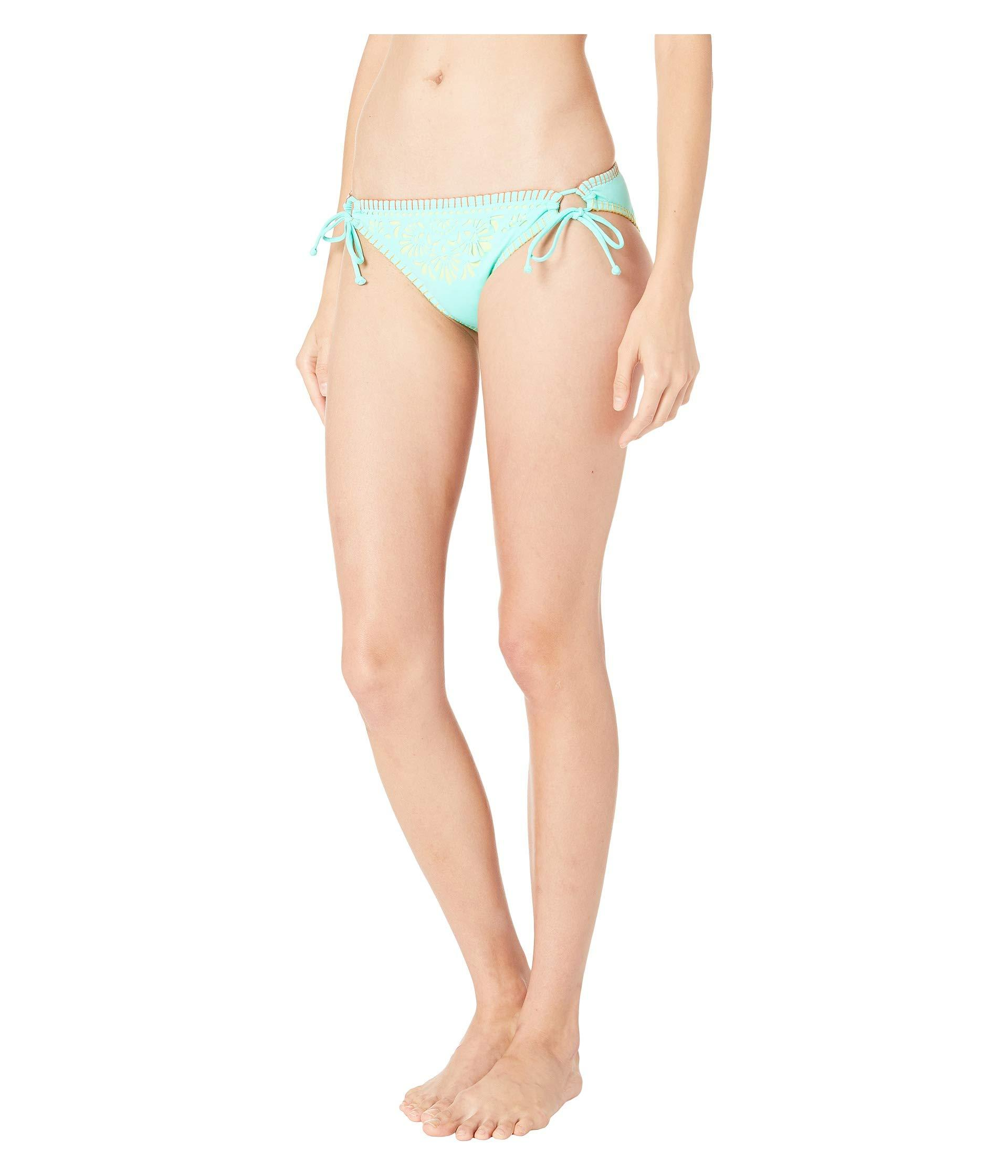 0c9358cc21 Lyst - Hobie Papel Picado Adjustable Hipster Bottoms (turquoise) Women's  Swimwear in Blue