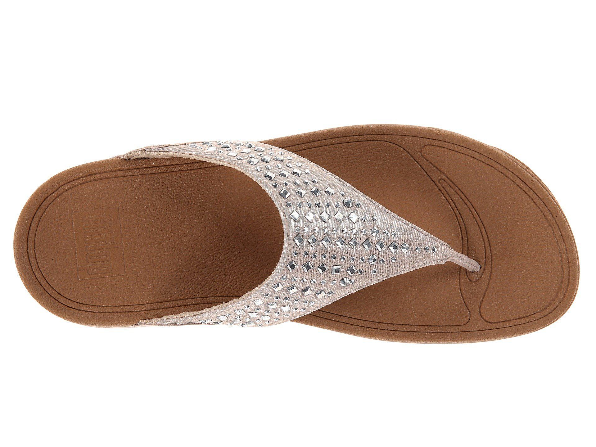 0bd6701c38bc95 Fitflop - Natural Novy (supernavy) Women s Sandals - Lyst. View fullscreen